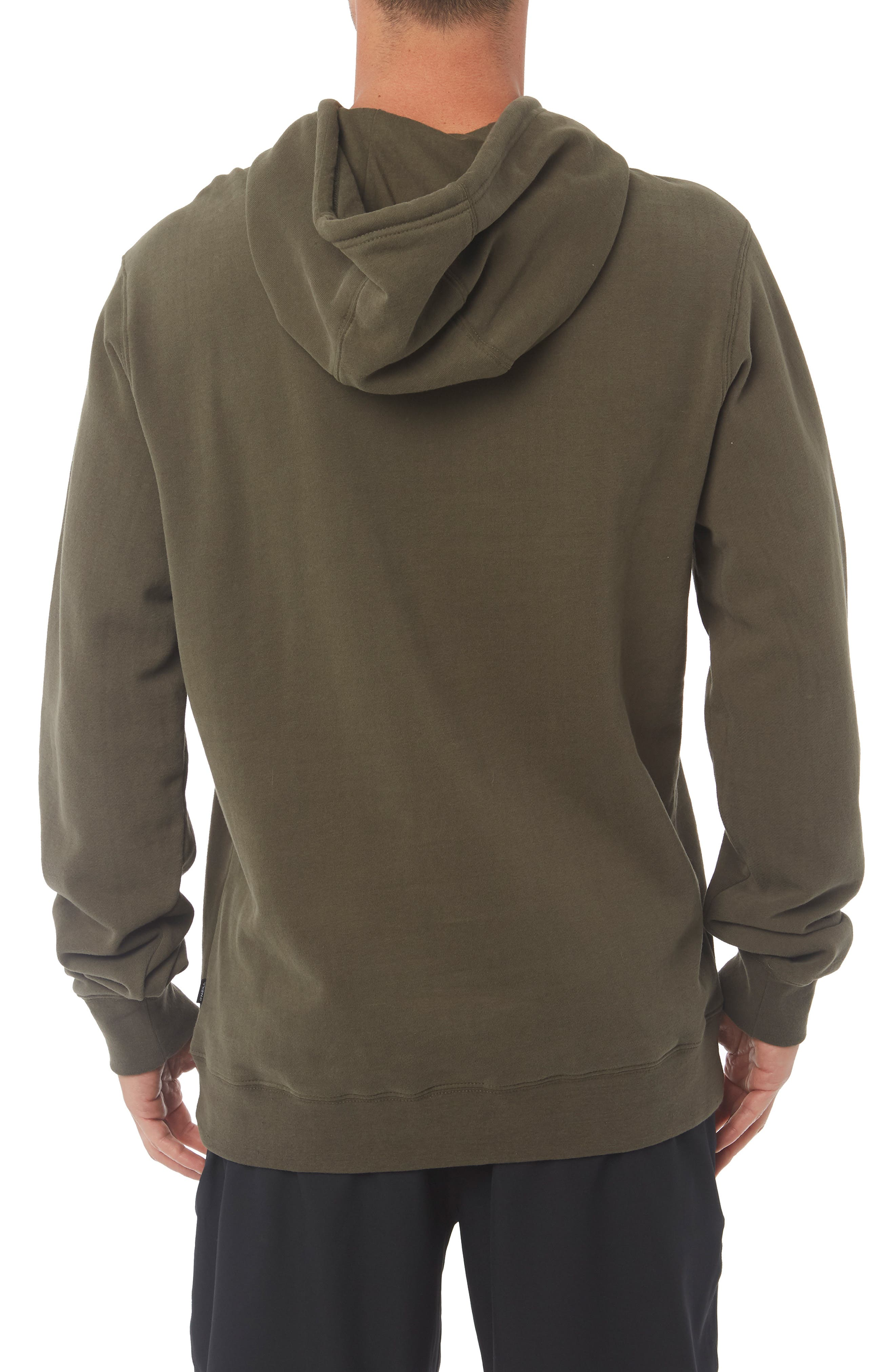 Combos Hoodie,                             Alternate thumbnail 2, color,                             MILITARY GREEN