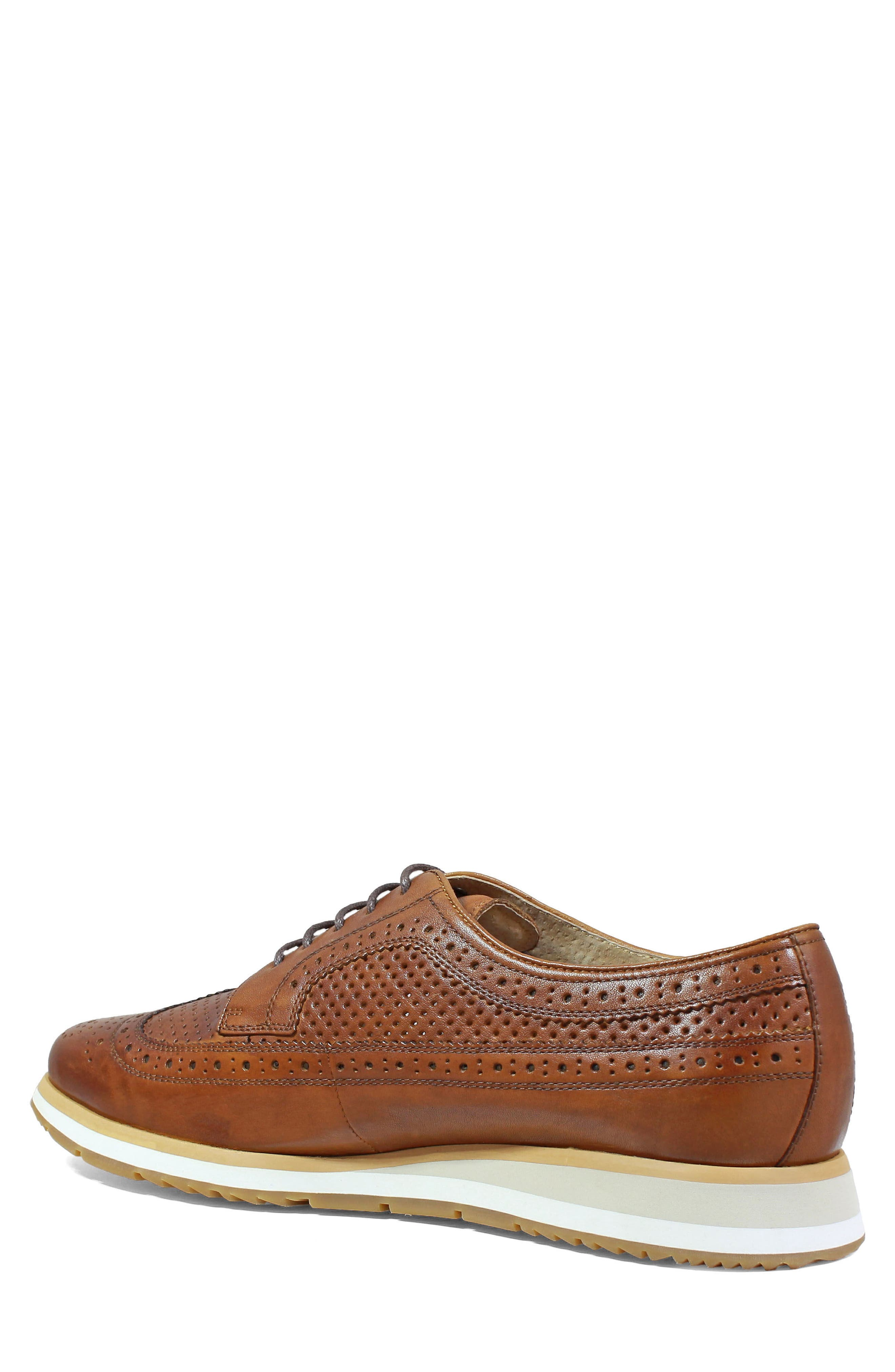 Limited Flux Perforated Wingtip Derby,                             Alternate thumbnail 4, color,