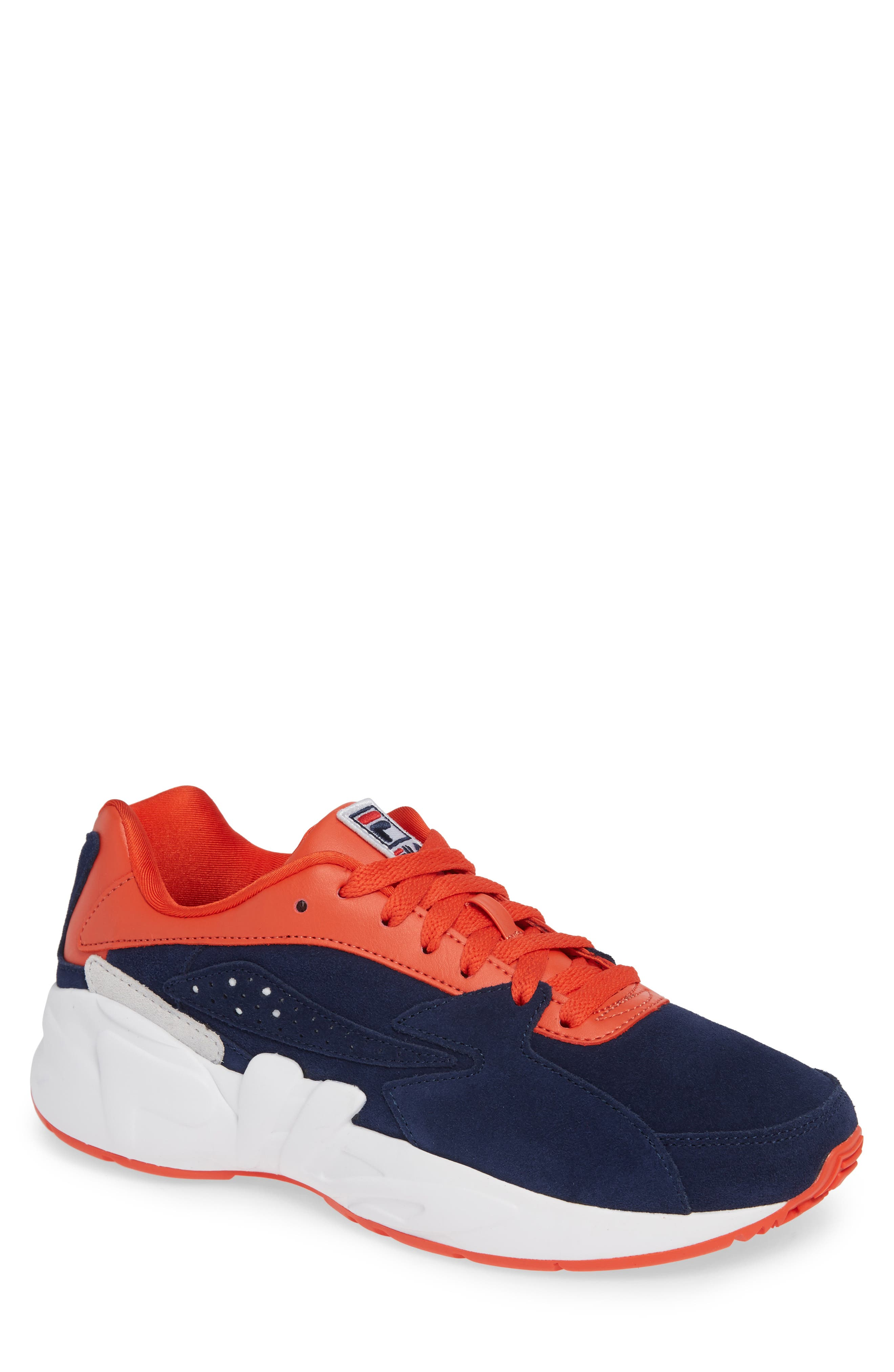 Mindblower Sneaker,                         Main,                         color, NAVY/ WHITE/ RED