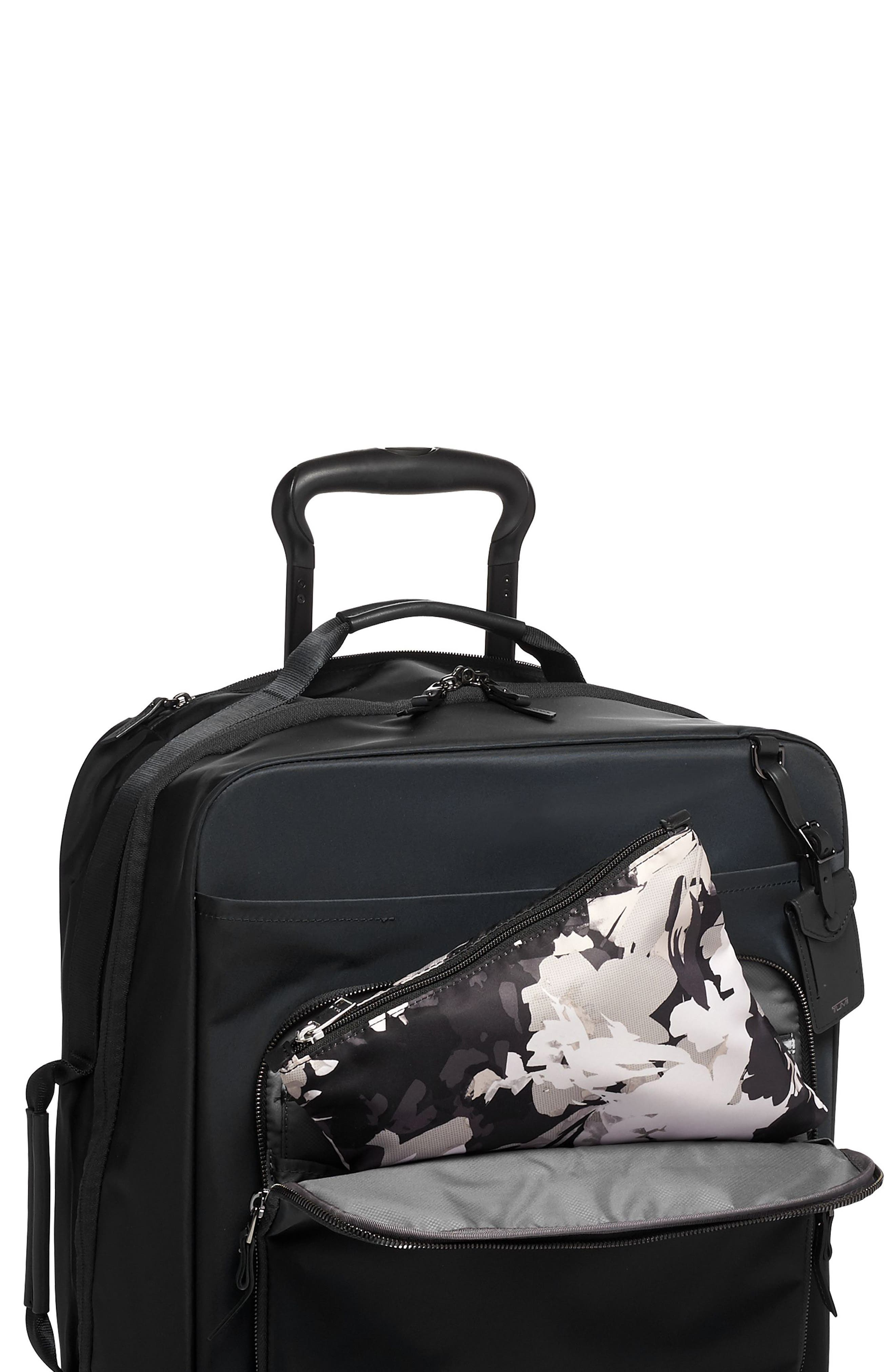 TUMI,                             Voyageur - Just in Case<sup>®</sup> Nylon Travel Backpack,                             Alternate thumbnail 5, color,                             AFRICAN FLORAL