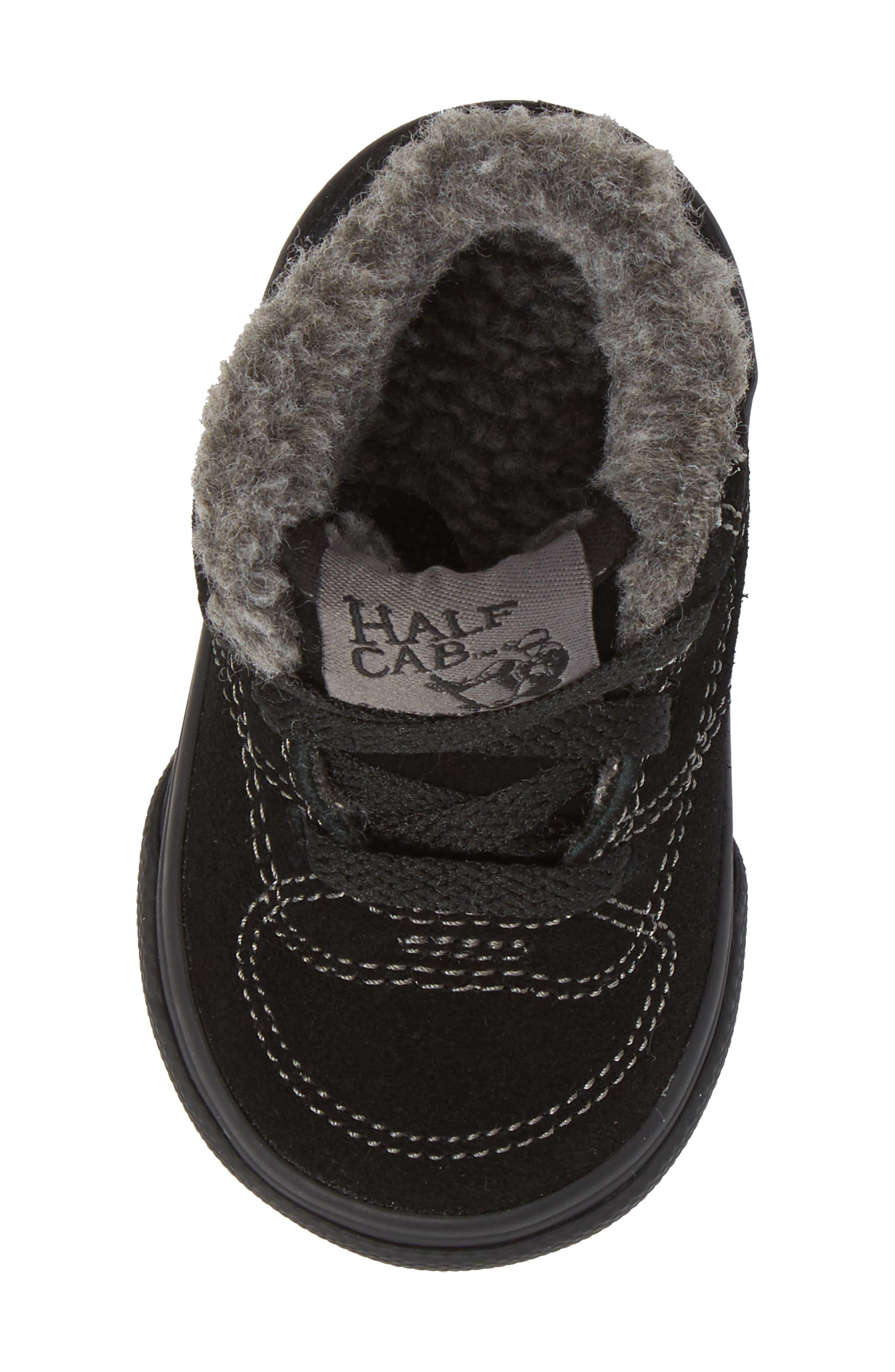 Half Cab Sneaker,                             Alternate thumbnail 5, color,                             001
