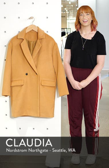 Oversize Double Breasted Coat, sales video thumbnail