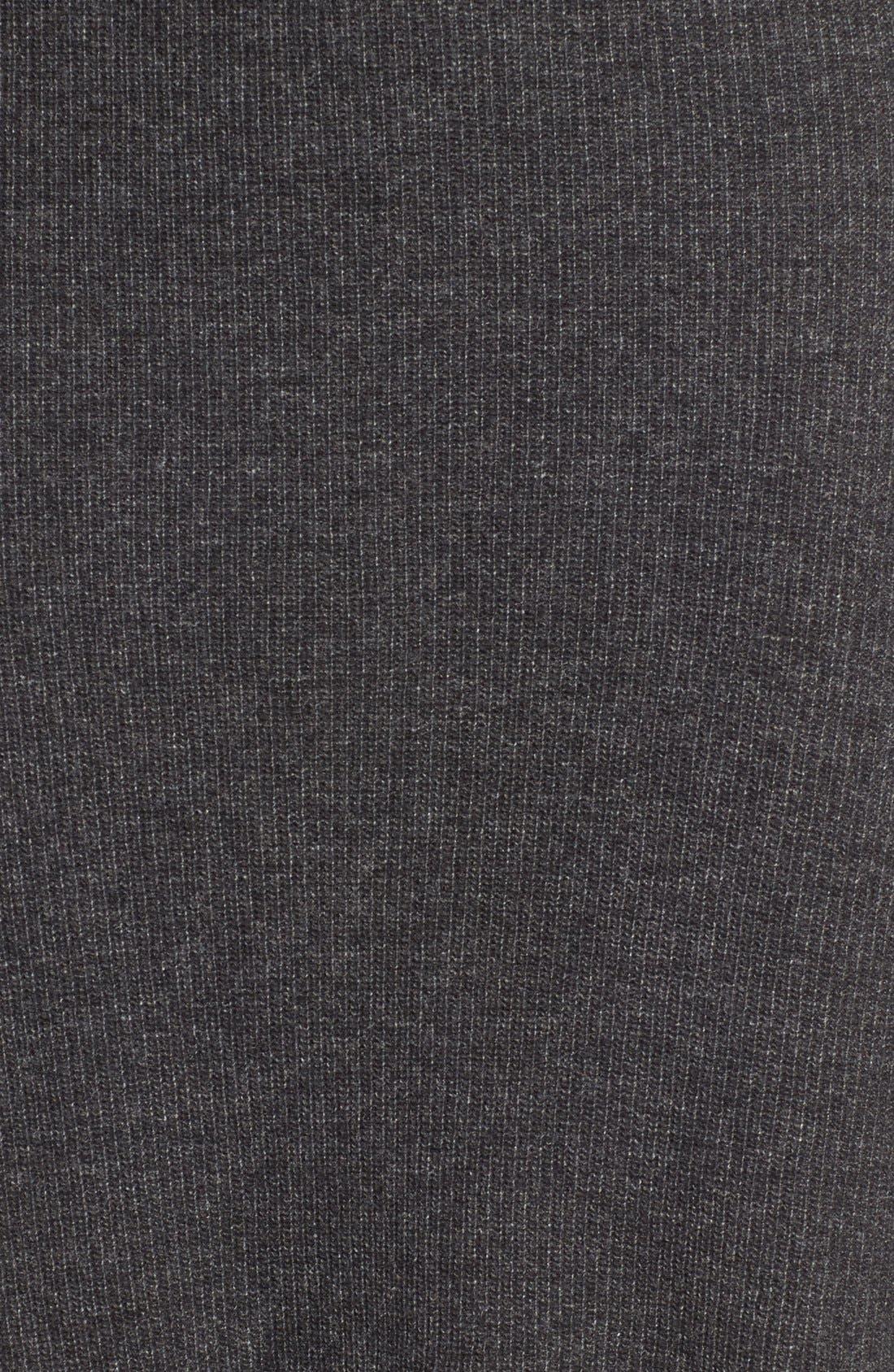 Rib Knit Sweater Skirt,                             Alternate thumbnail 4, color,                             030