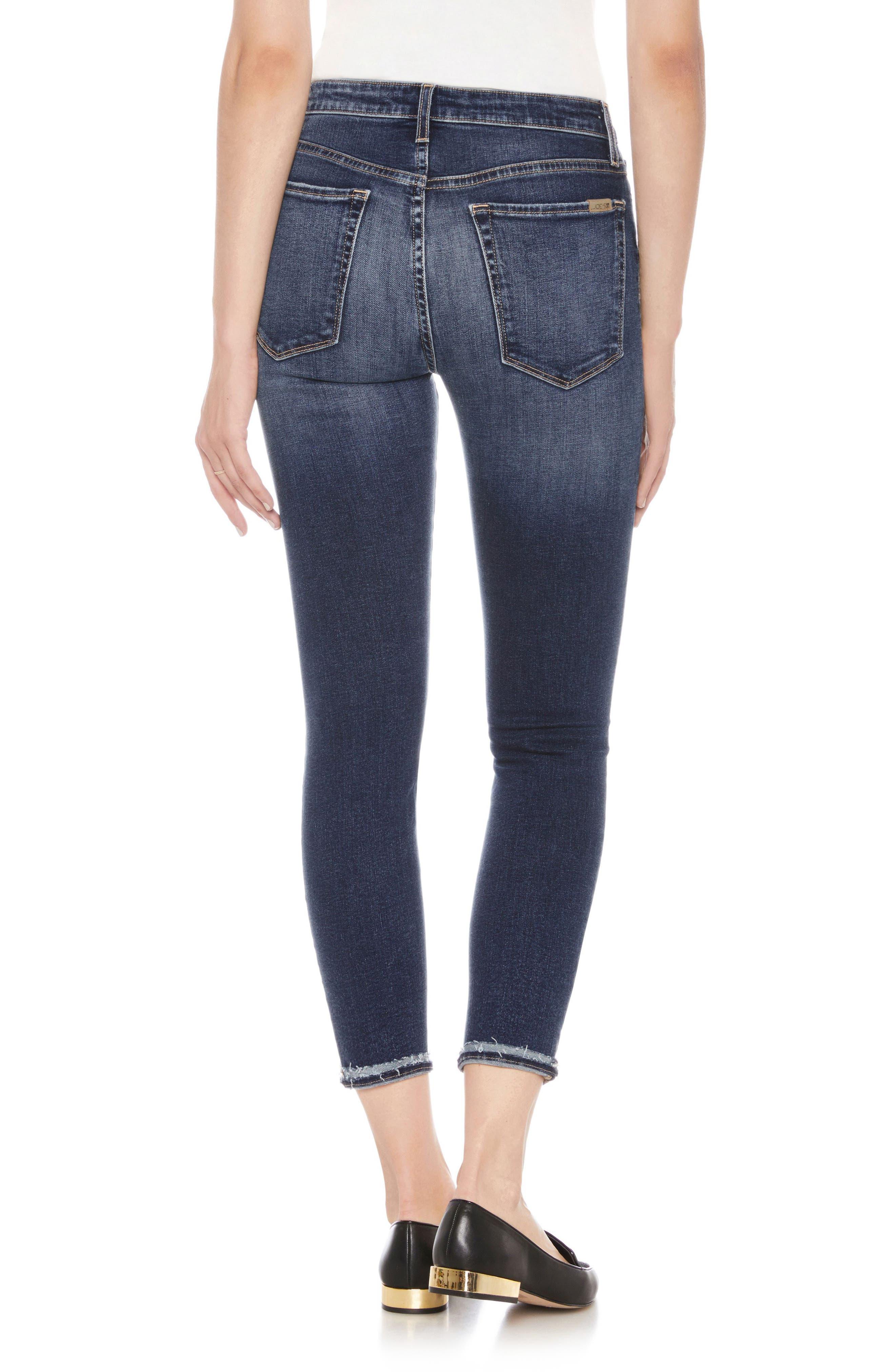Flawless - The Charlie High Waist Ankle Skinny Jeans,                             Alternate thumbnail 2, color,                             MANDALA