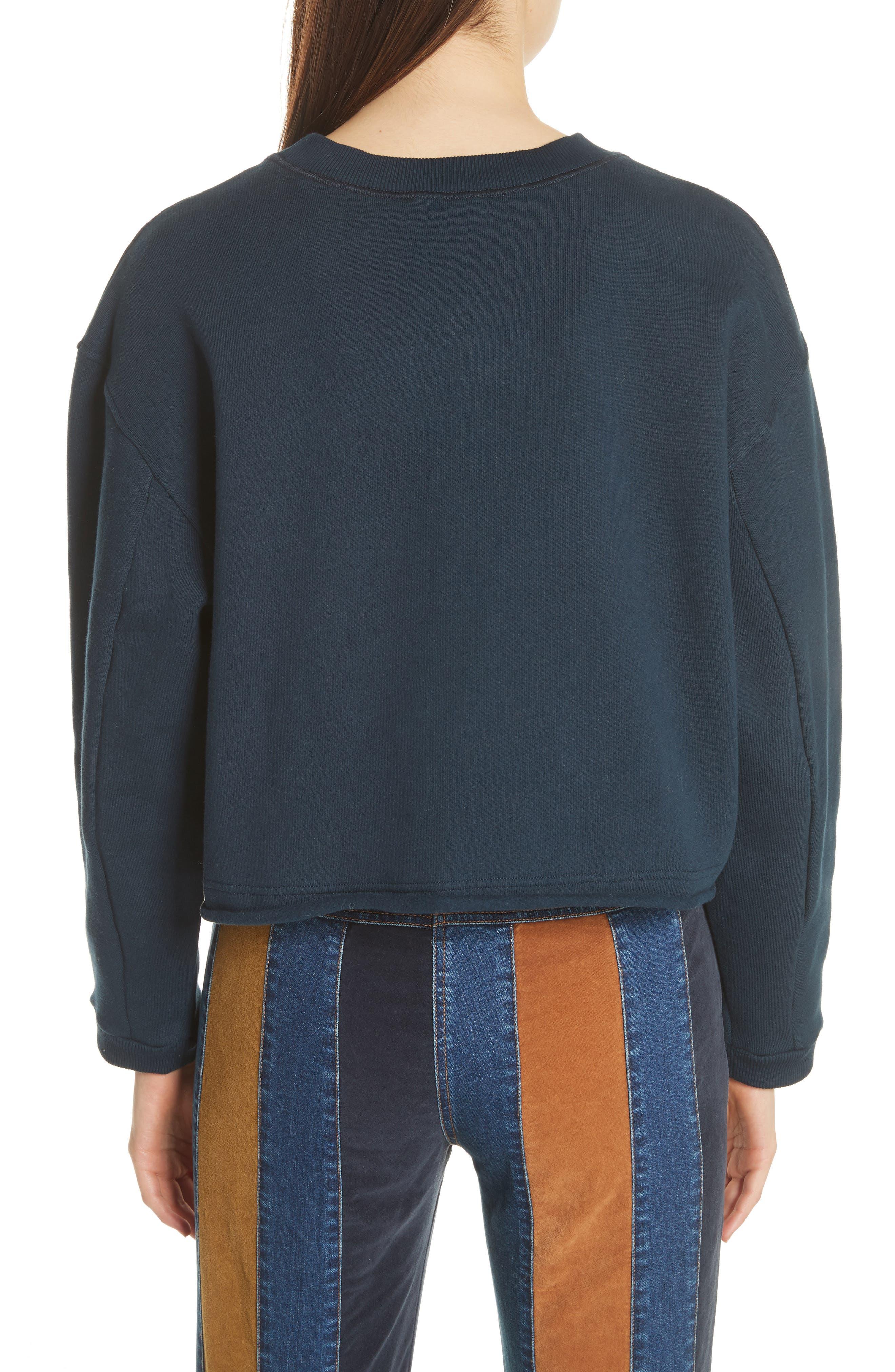 Lip Sweatshirt,                             Alternate thumbnail 2, color,                             930