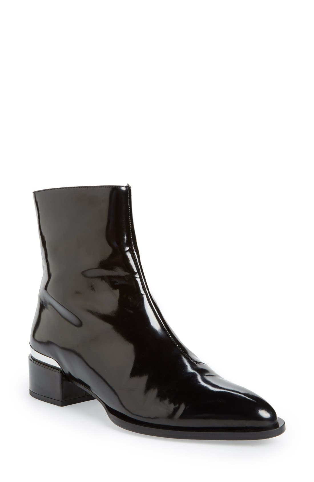 'Yasmin' Pointy Toe Boot,                             Main thumbnail 1, color,                             001
