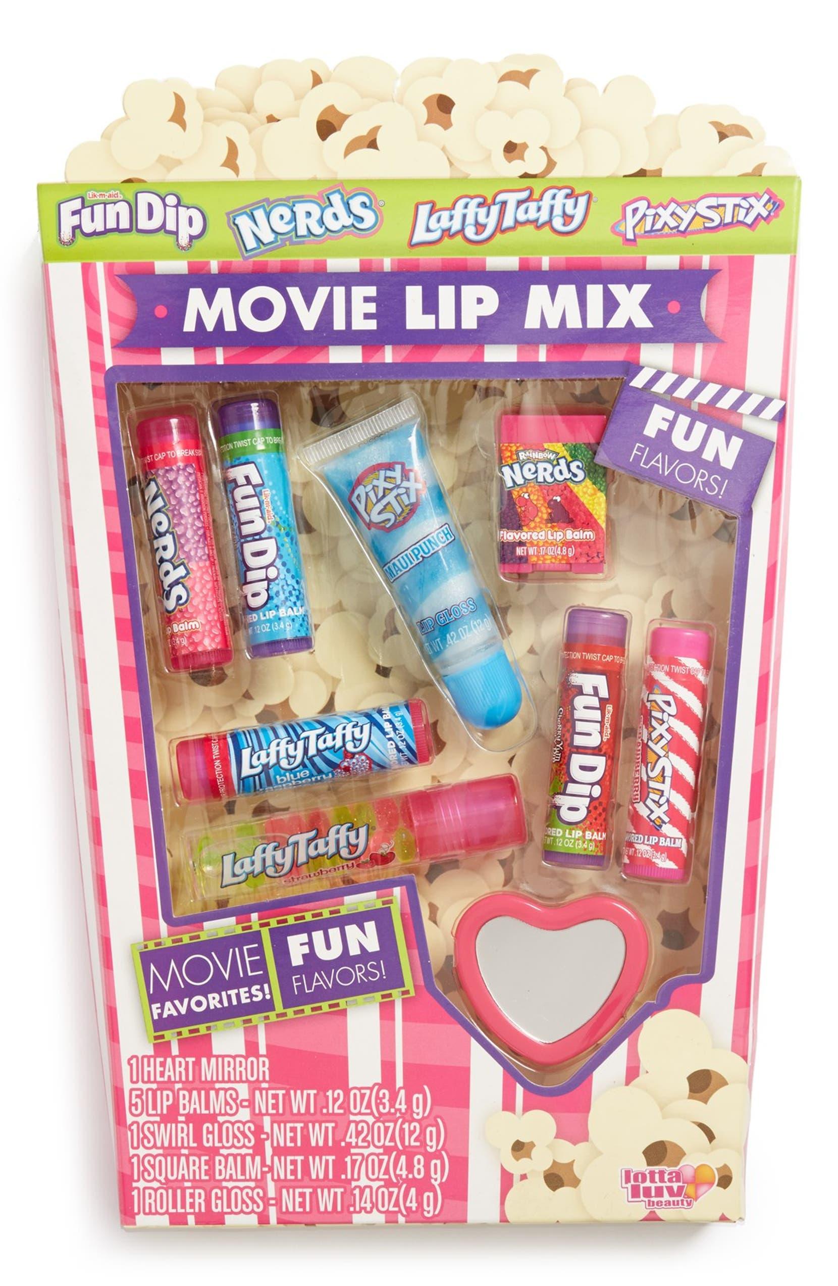 Movie Mix Lip Balm Set Conditioner Pixy