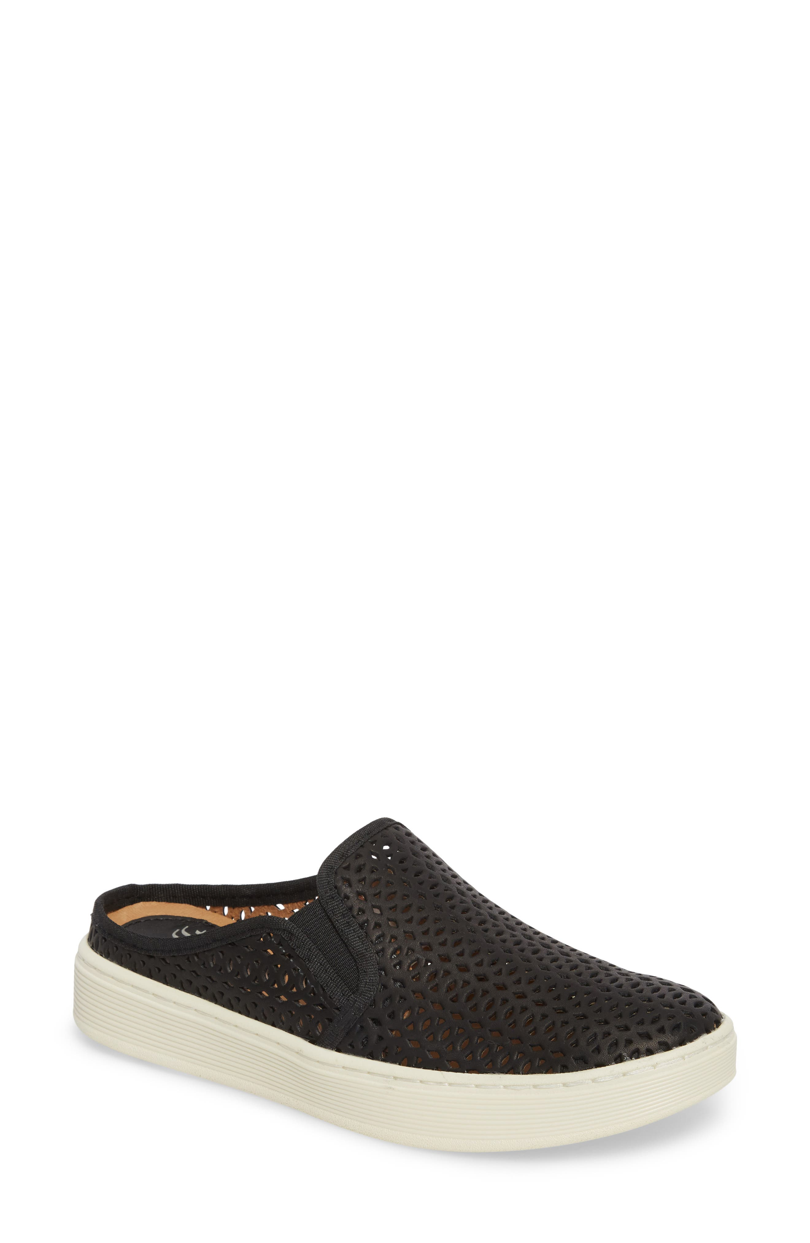 Somers II Sneaker,                         Main,                         color, BLACK LEATHER