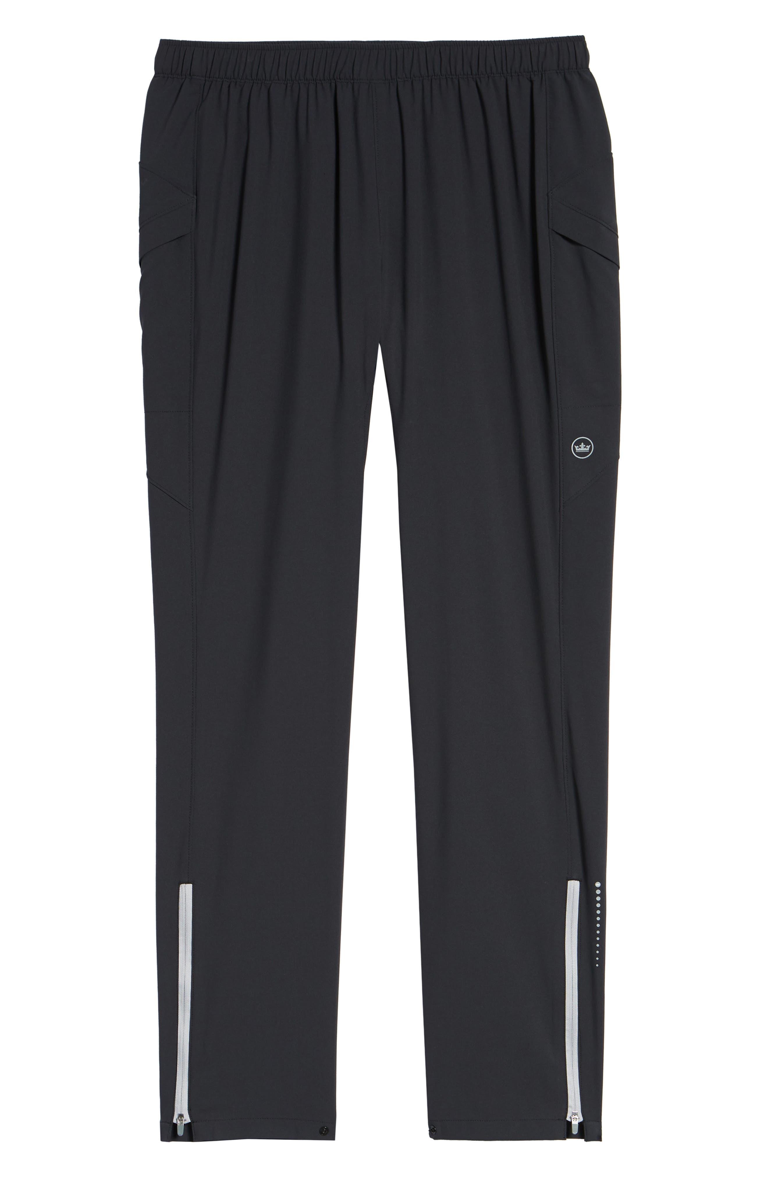 Vancouver Workout Pants,                             Alternate thumbnail 6, color,                             BLACK