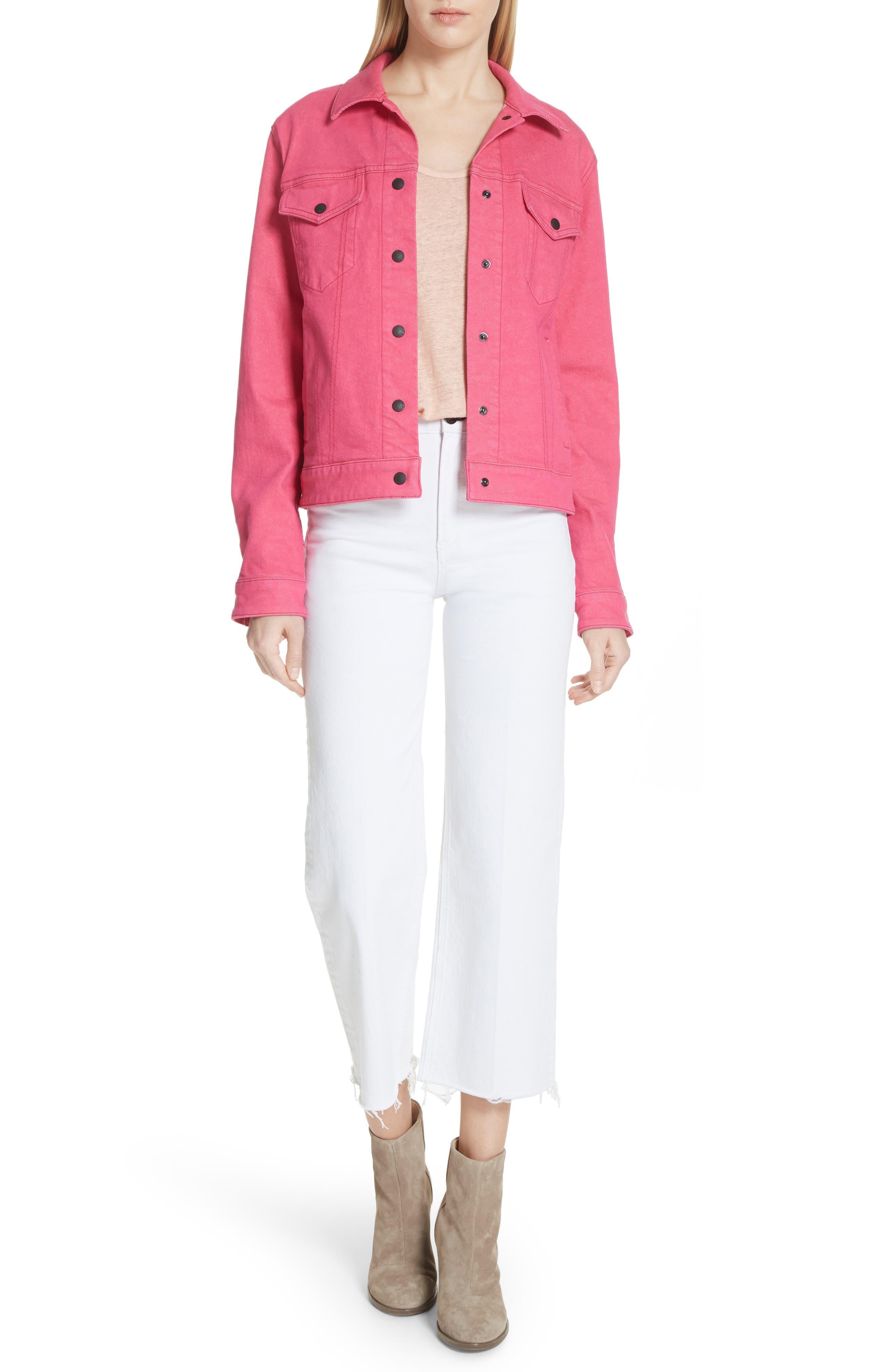 Nico Denim Jacket,                         Main,                         color, 672