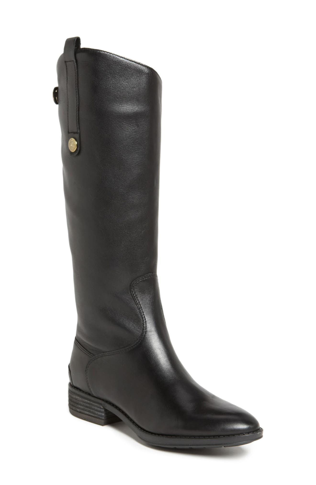 Penny Boot,                         Main,                         color, BLACK
