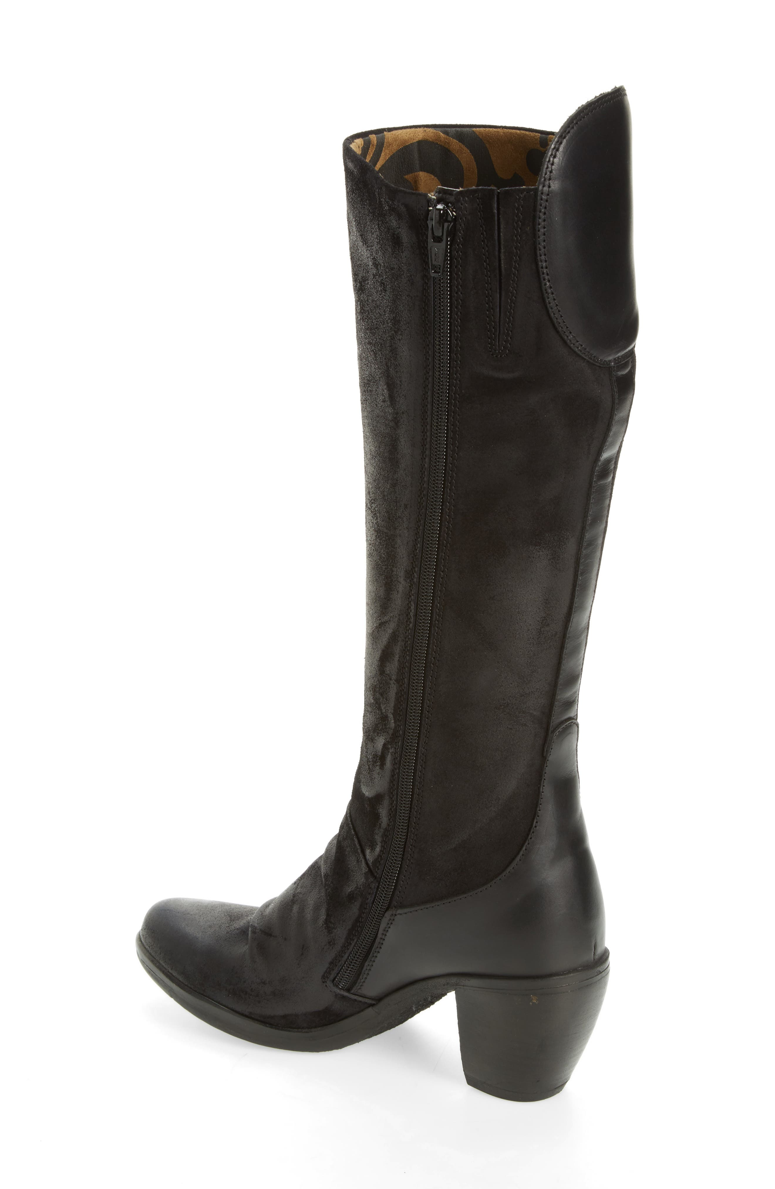 Hean Knee High Boot,                             Alternate thumbnail 2, color,