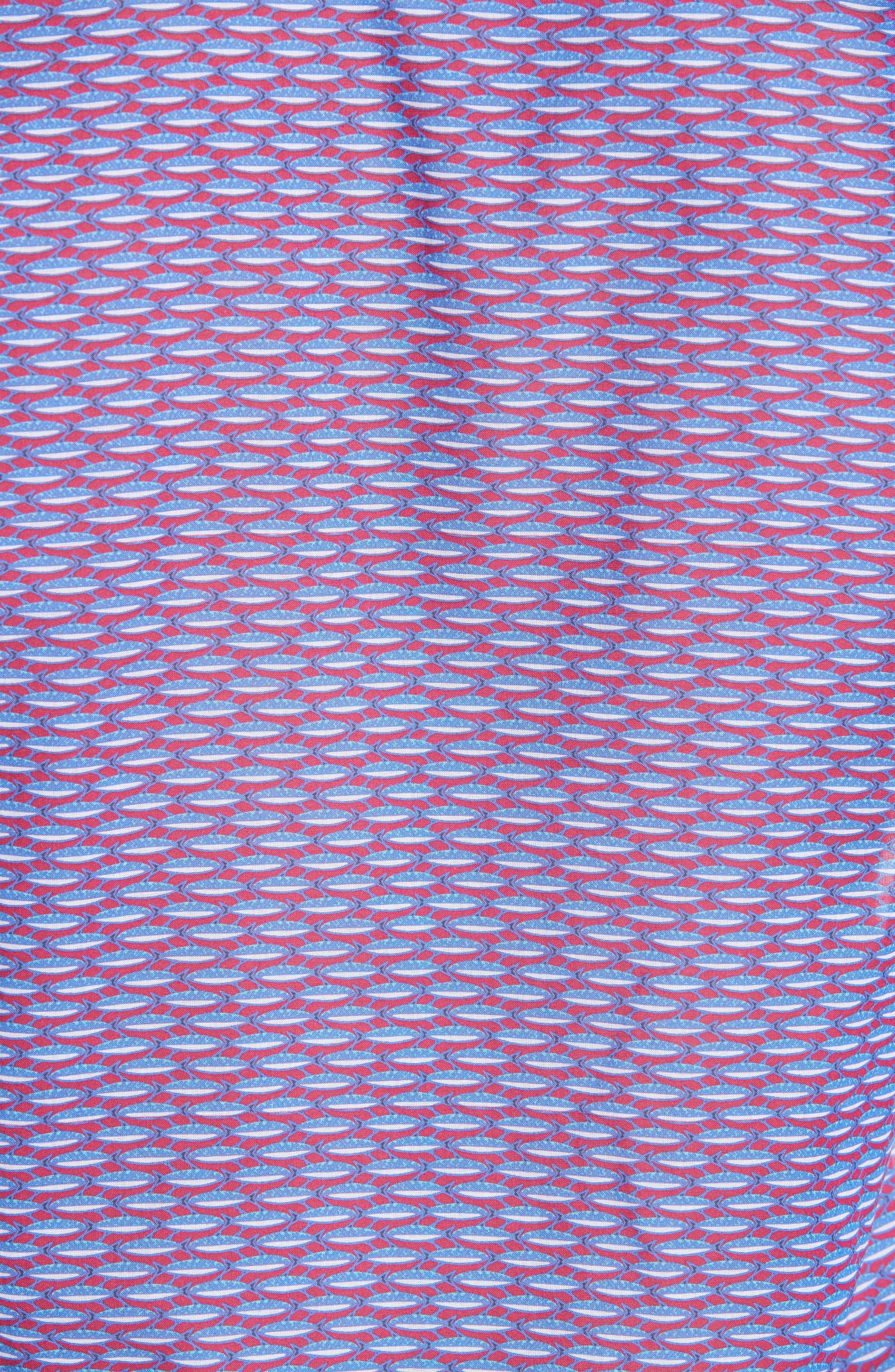 Marbella Voile Print Sport Shirt,                             Alternate thumbnail 5, color,                             MULTI