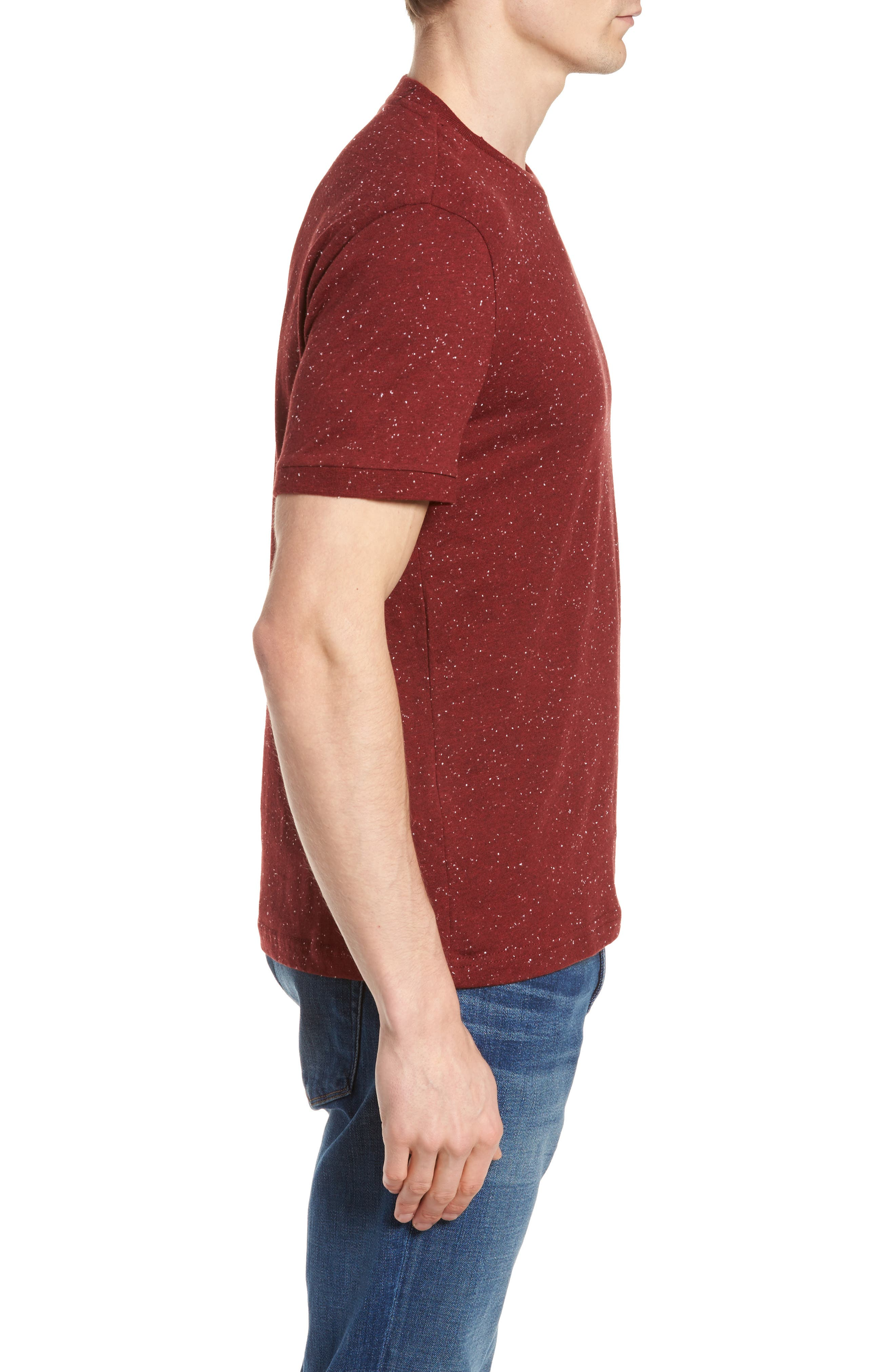 Nep Speckled T-Shirt,                             Alternate thumbnail 7, color,