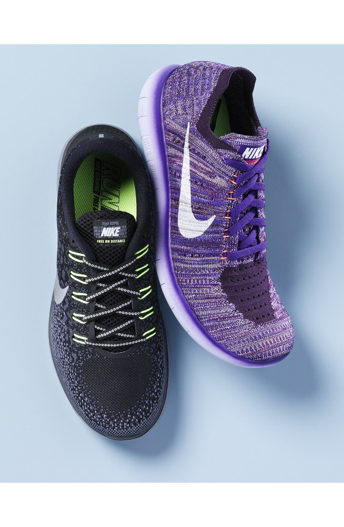 'Free Flyknit' Running Shoe,                         Main,                         color,