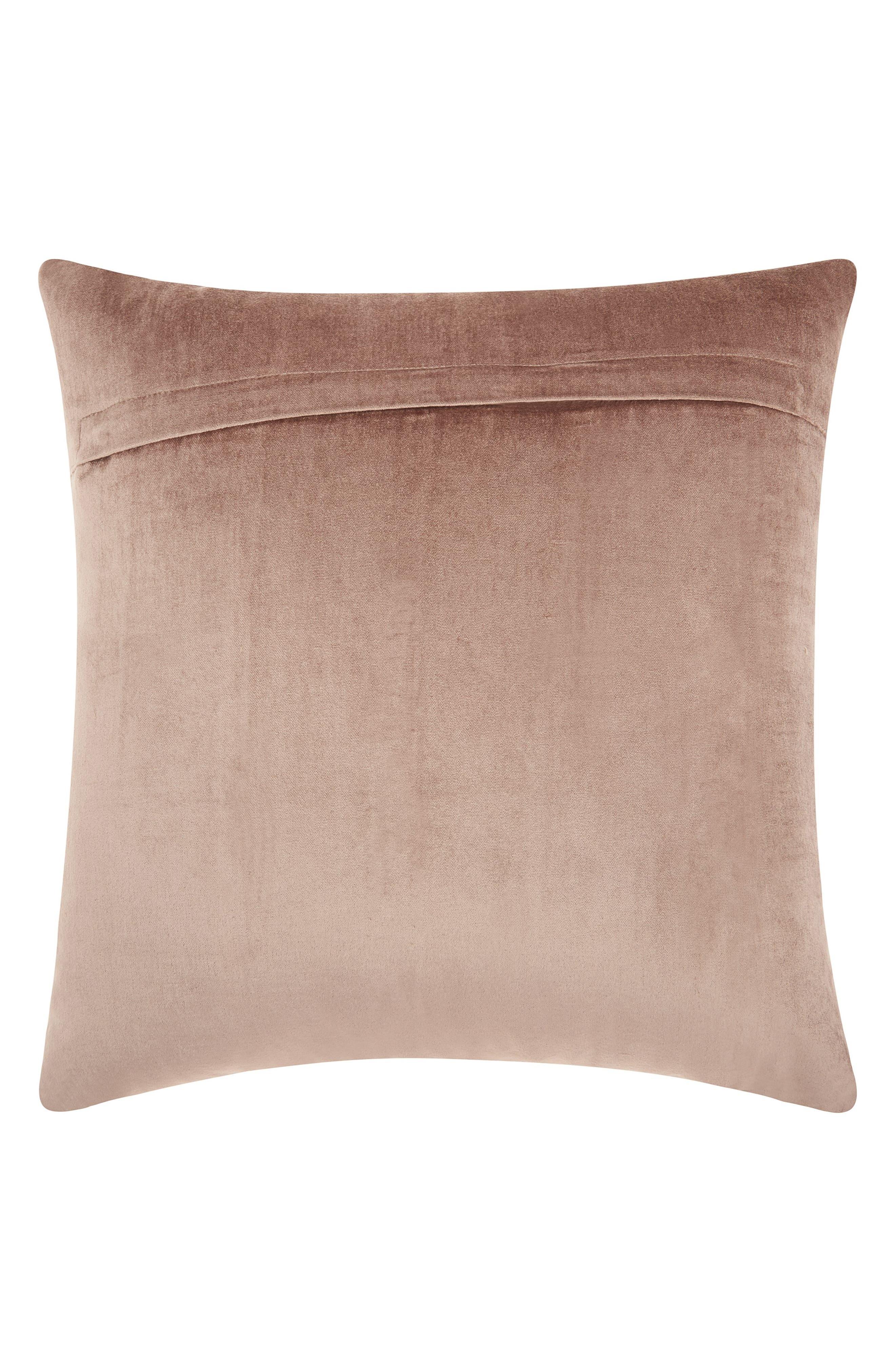 Stripe Velvet Accent Pillow,                             Alternate thumbnail 2, color,                             250