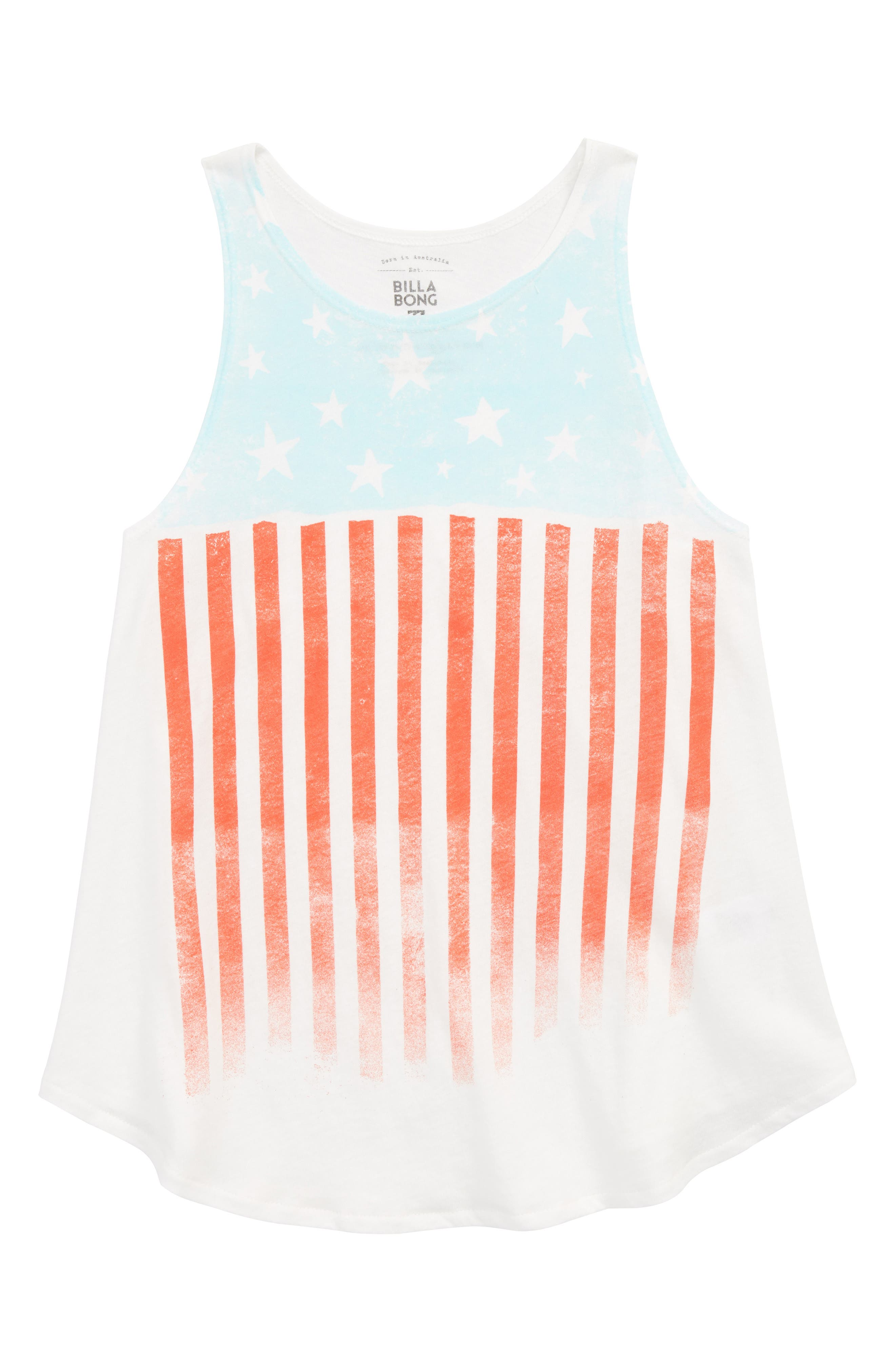 Starry Flag Tank,                         Main,                         color, 900