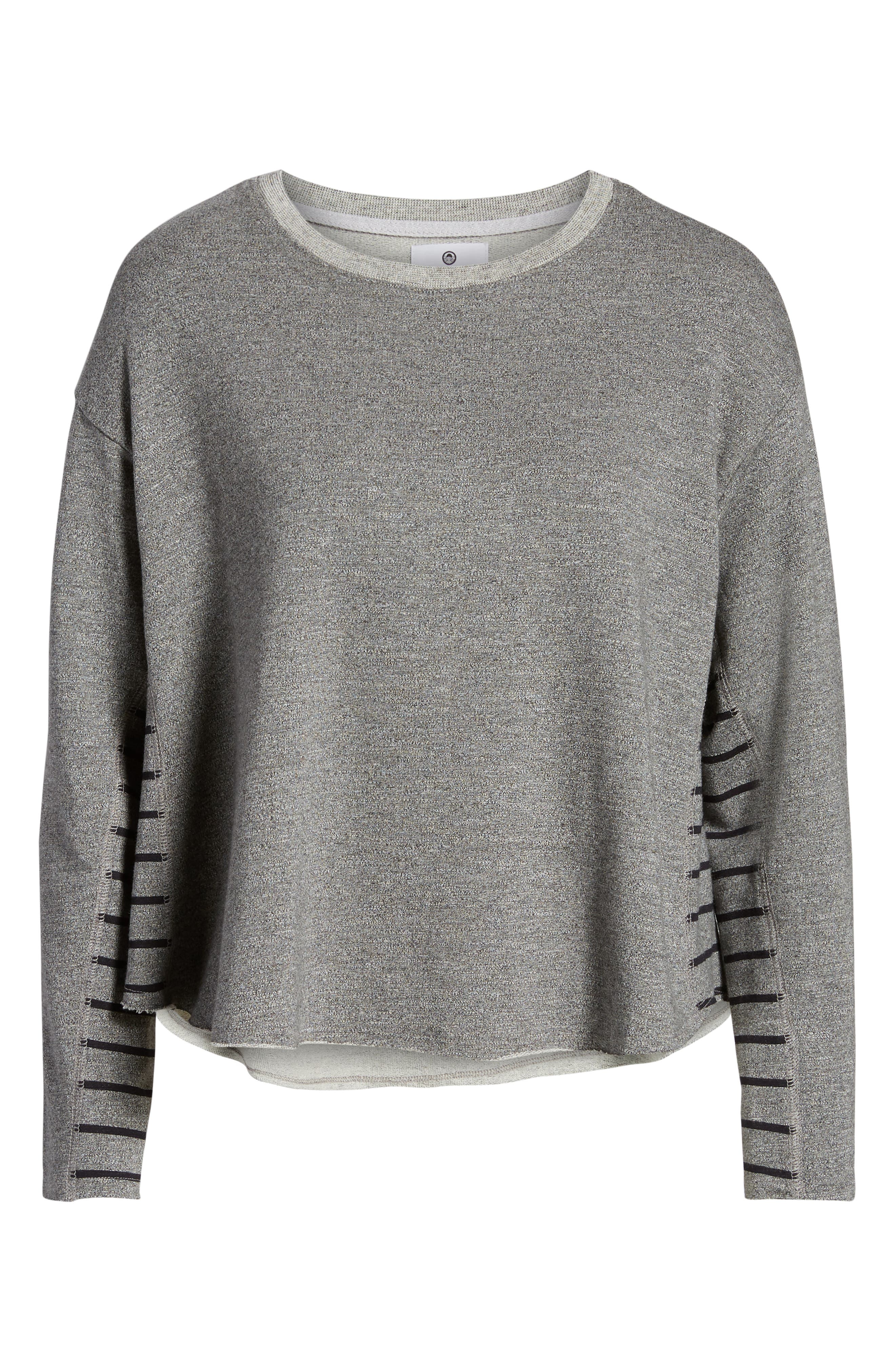 Active Trapeze Sweatshirt,                             Alternate thumbnail 7, color,
