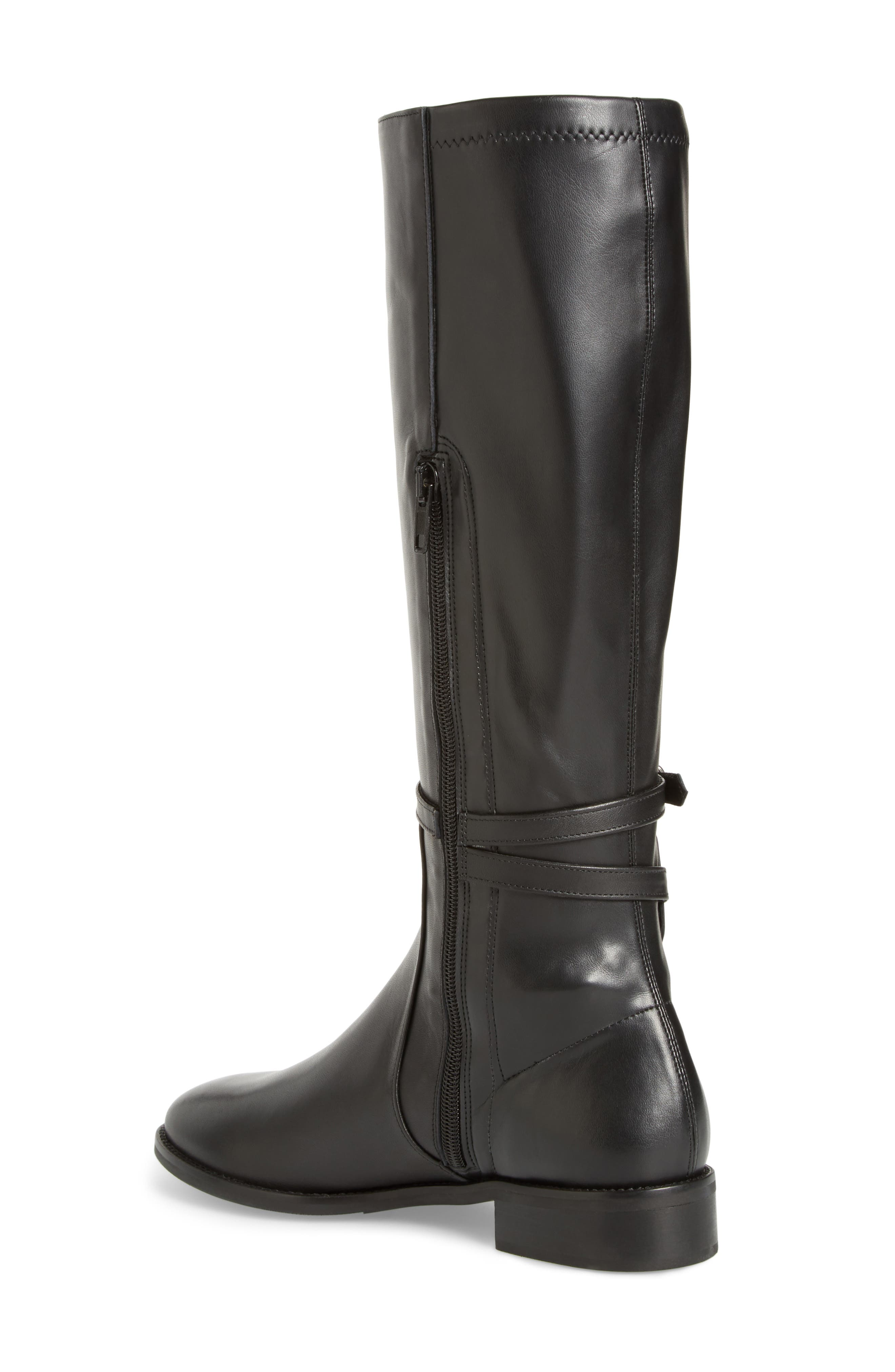 Royce Stretch Back Riding Boot,                             Alternate thumbnail 2, color,                             001