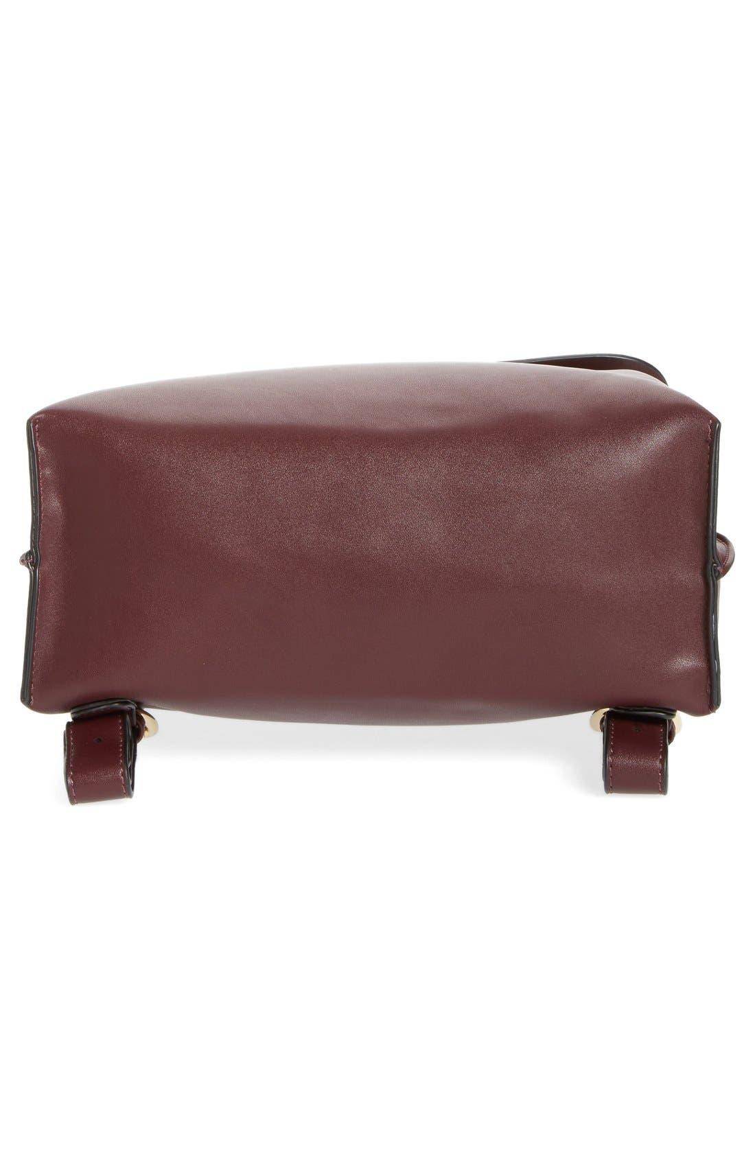 Selena Faux Leather Backpack,                             Alternate thumbnail 39, color,