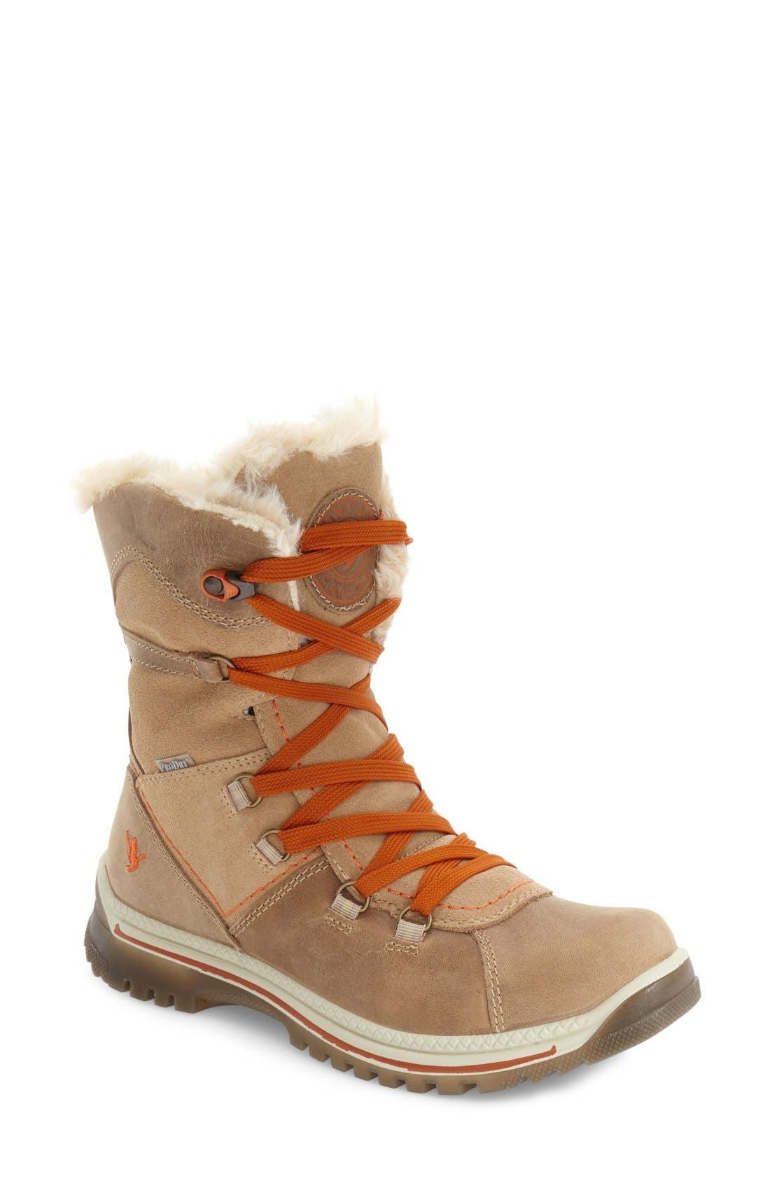 'Majesta' Faux Fur Boot,                             Main thumbnail 2, color,