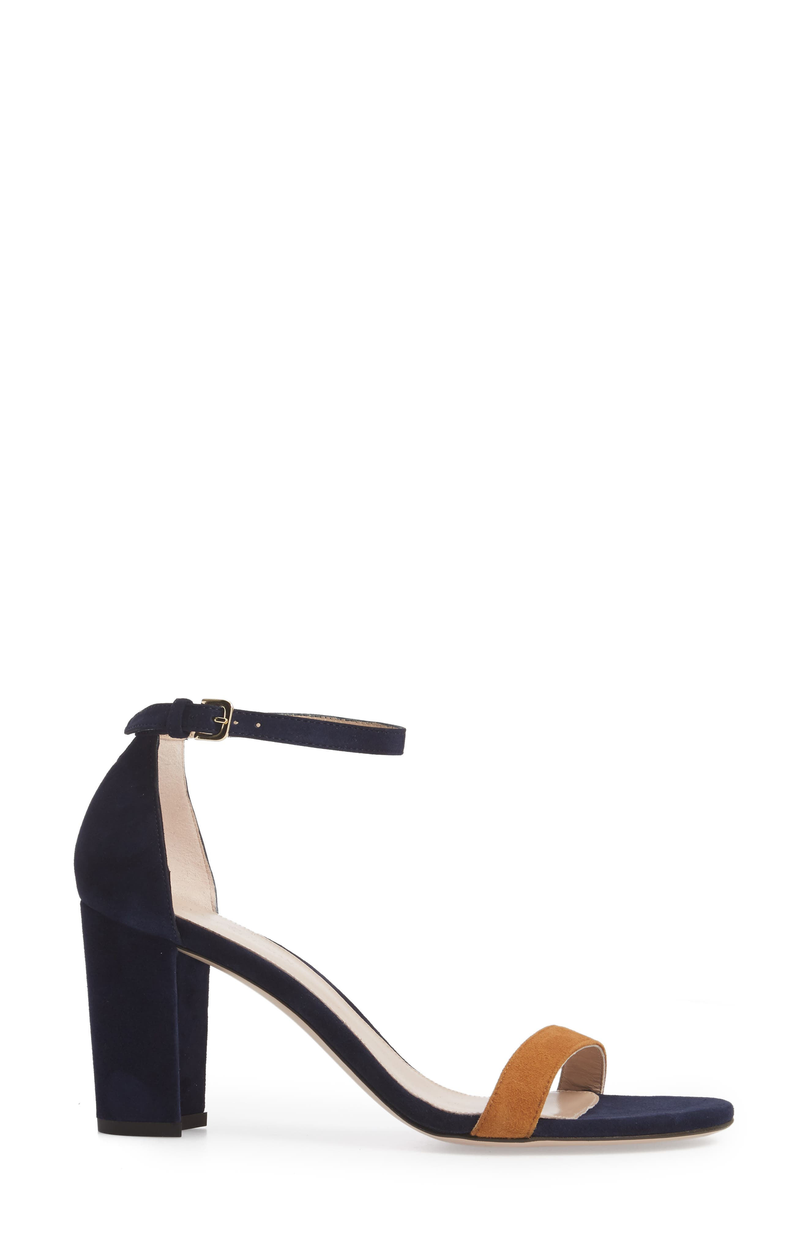 NearlyNude Ankle Strap Sandal,                             Alternate thumbnail 57, color,