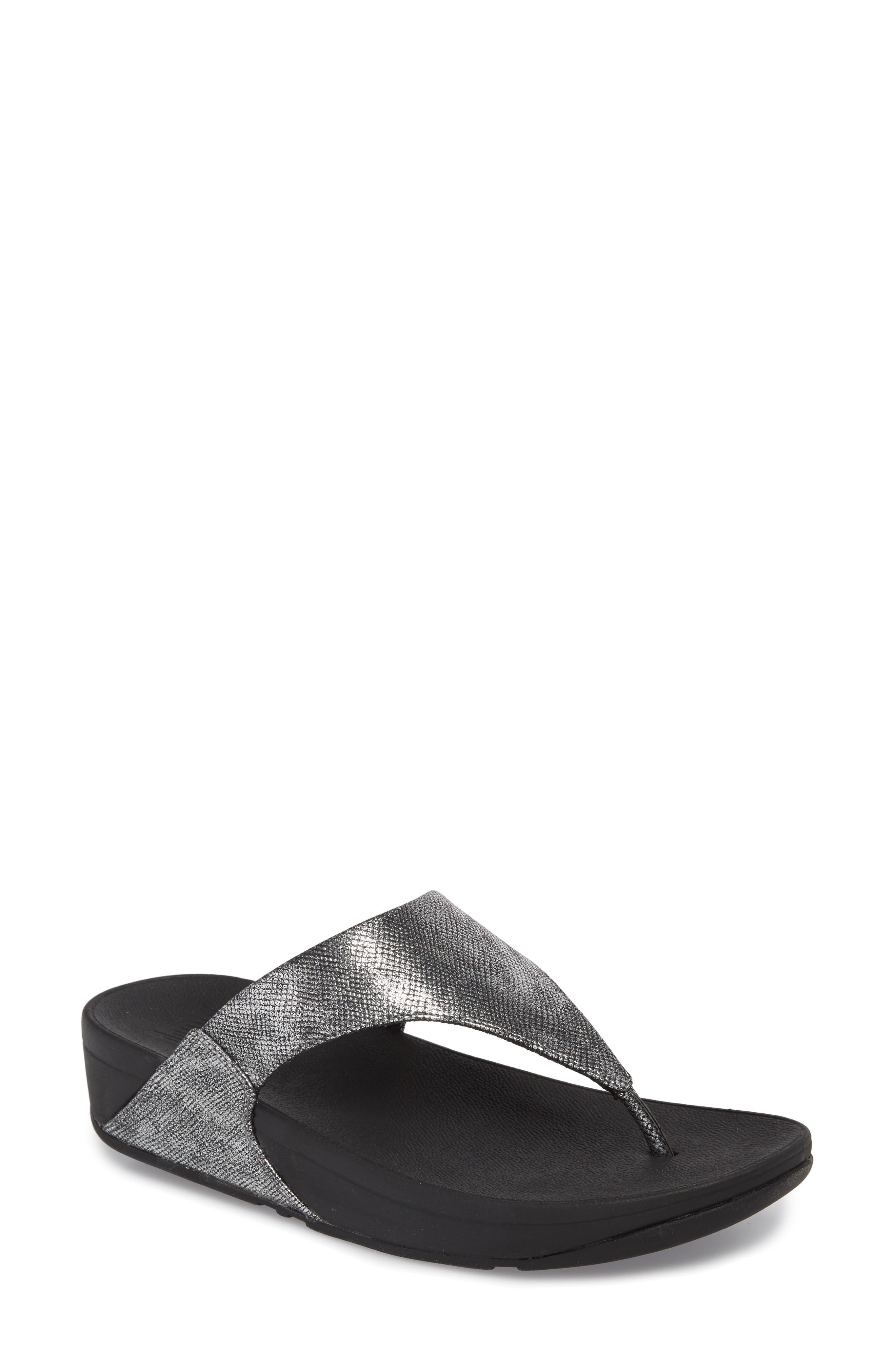 FITFLOP,                             Lulu Thong Sandal,                             Main thumbnail 1, color,                             004