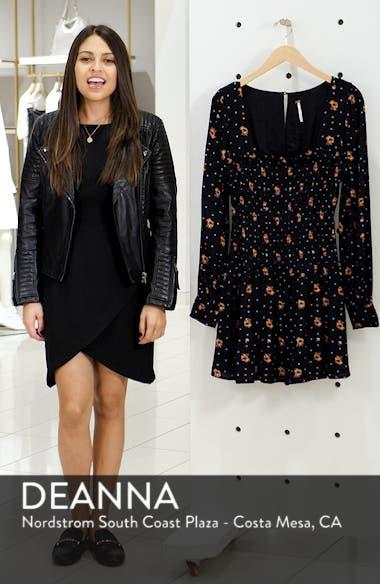 Two Faces Print Minidress, sales video thumbnail