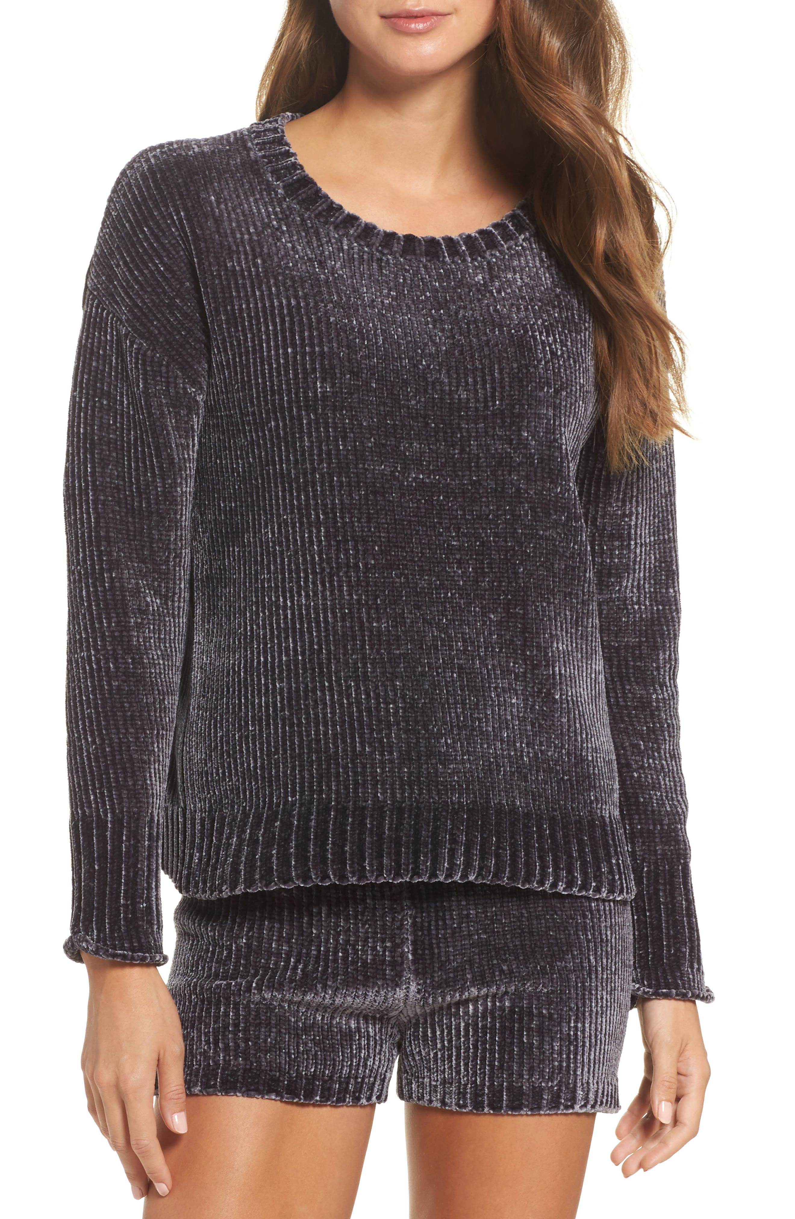 Chenille Sweater,                             Main thumbnail 1, color,                             030