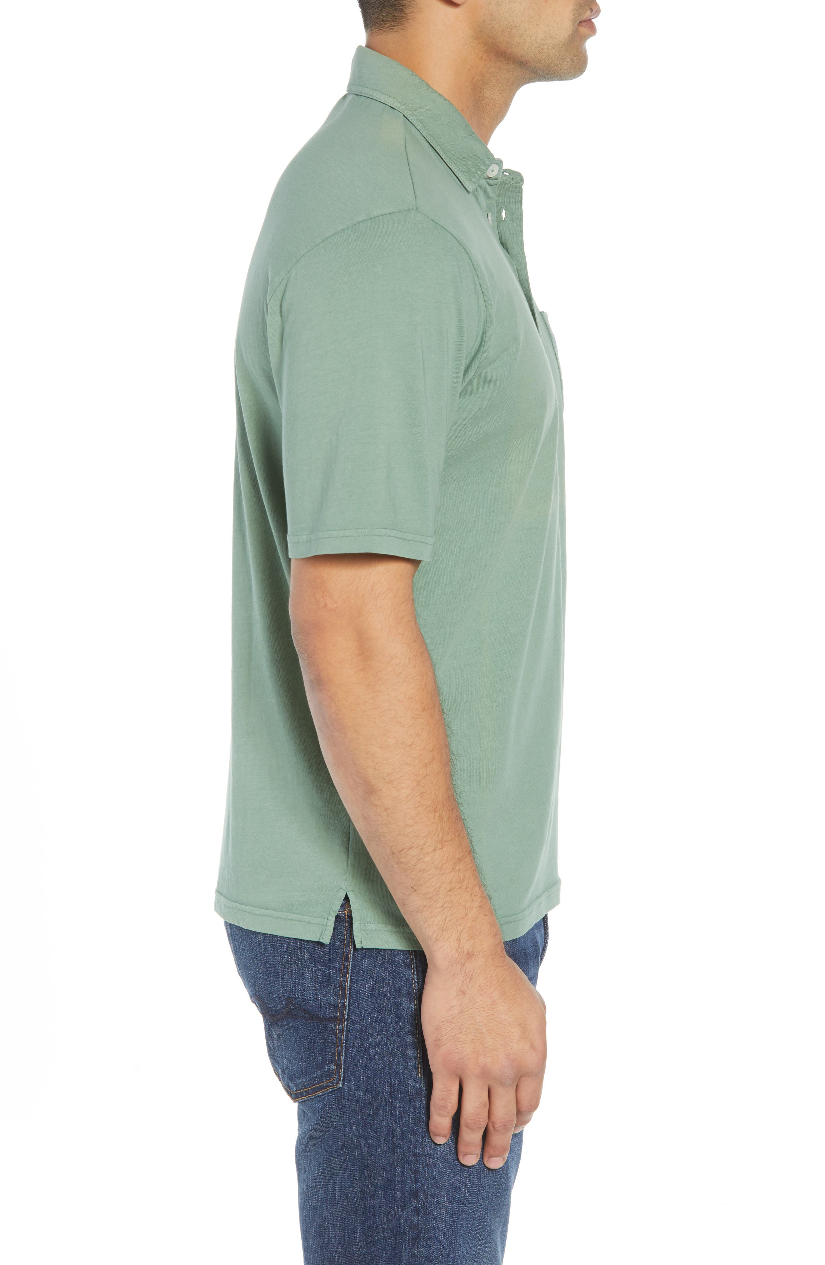 Original Regular Fit Garment Dyed Polo,                             Alternate thumbnail 3, color,                             318