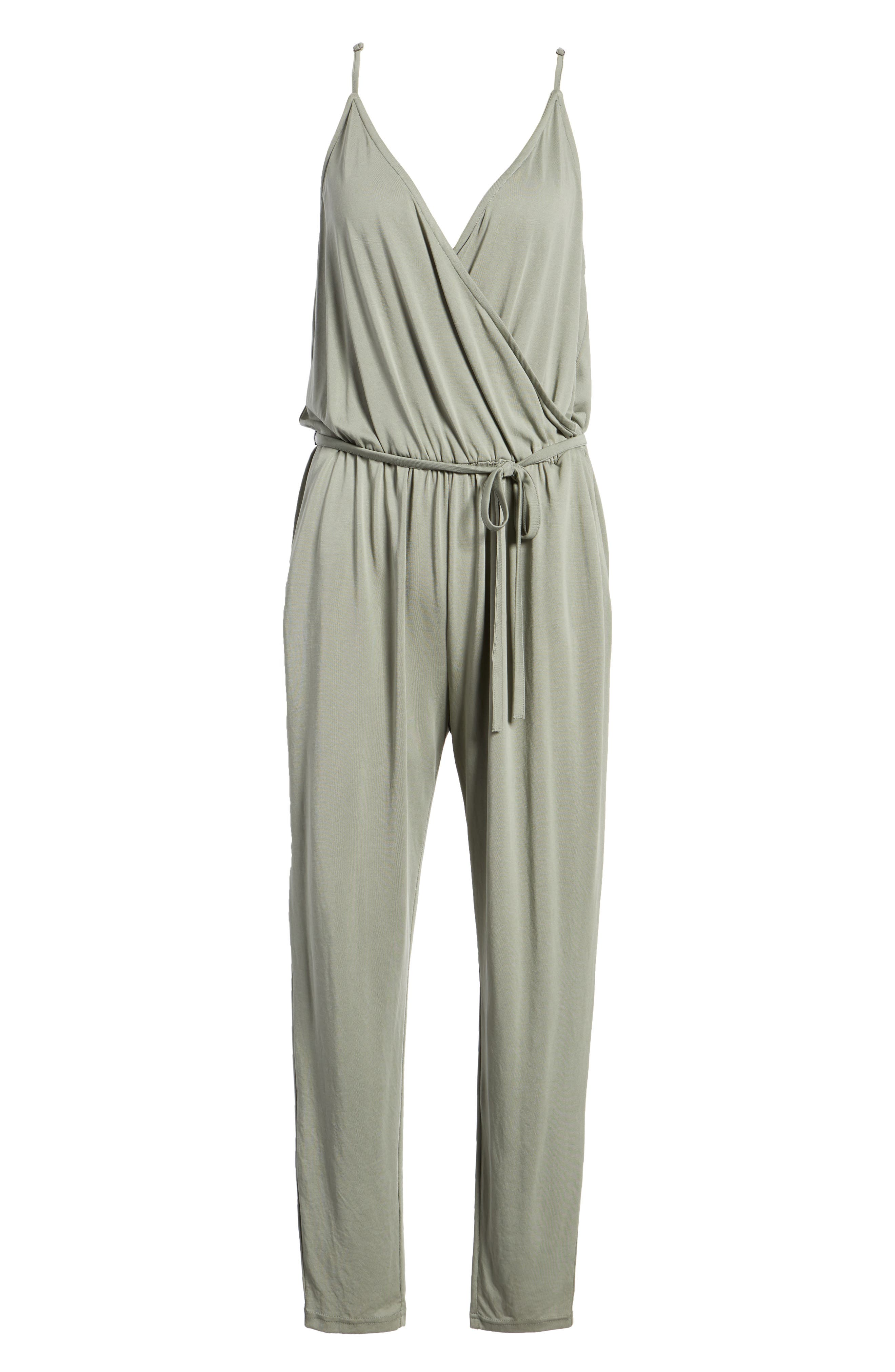 Marni Jumpsuit,                             Alternate thumbnail 7, color,                             SAGE