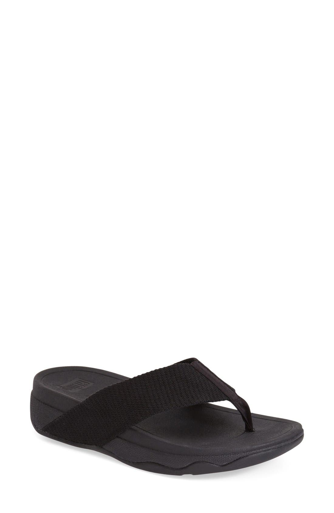 'Surfa' Thong Sandal,                             Main thumbnail 2, color,