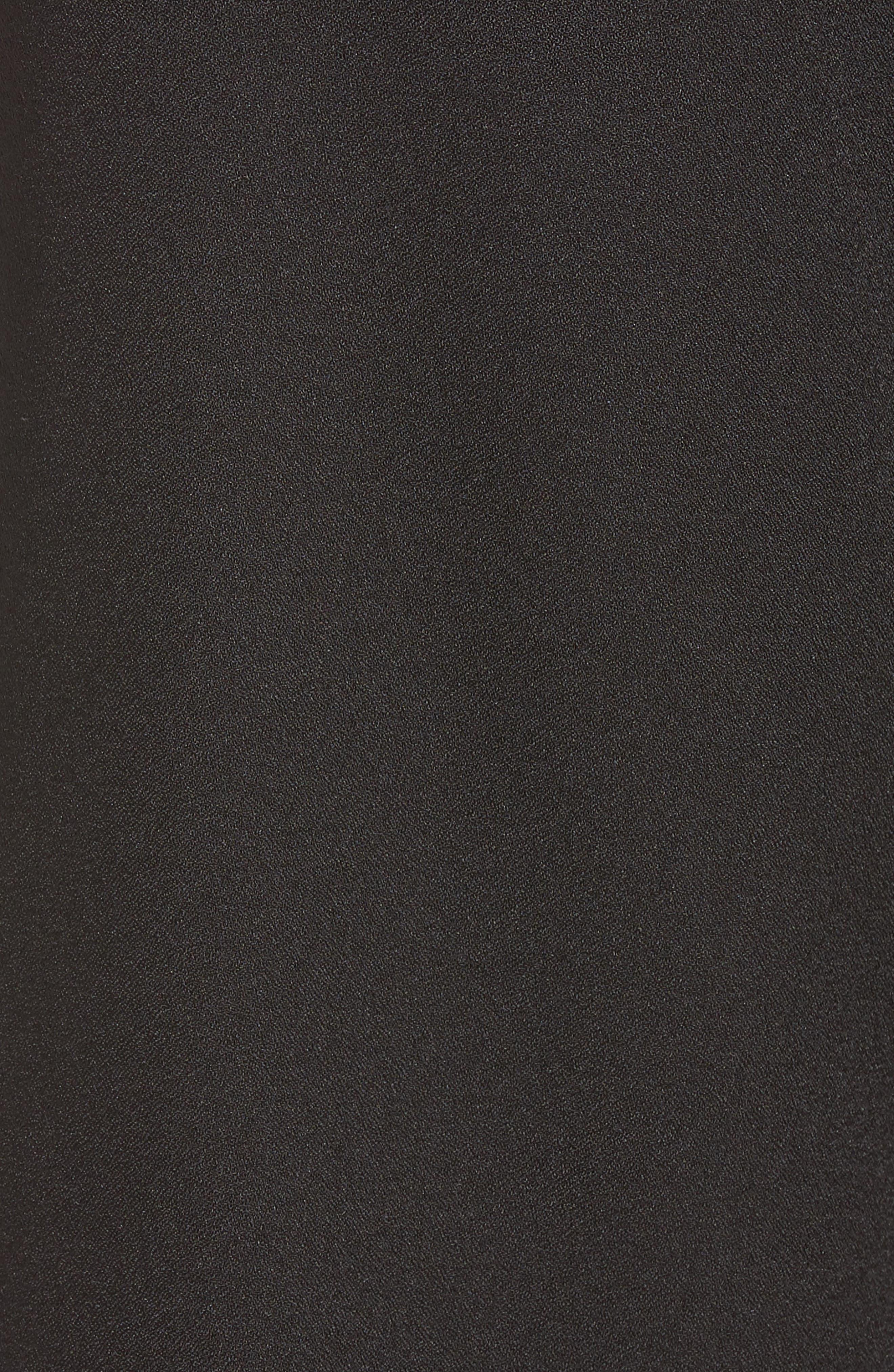 Tie Waist Crop Pants,                             Alternate thumbnail 6, color,                             001