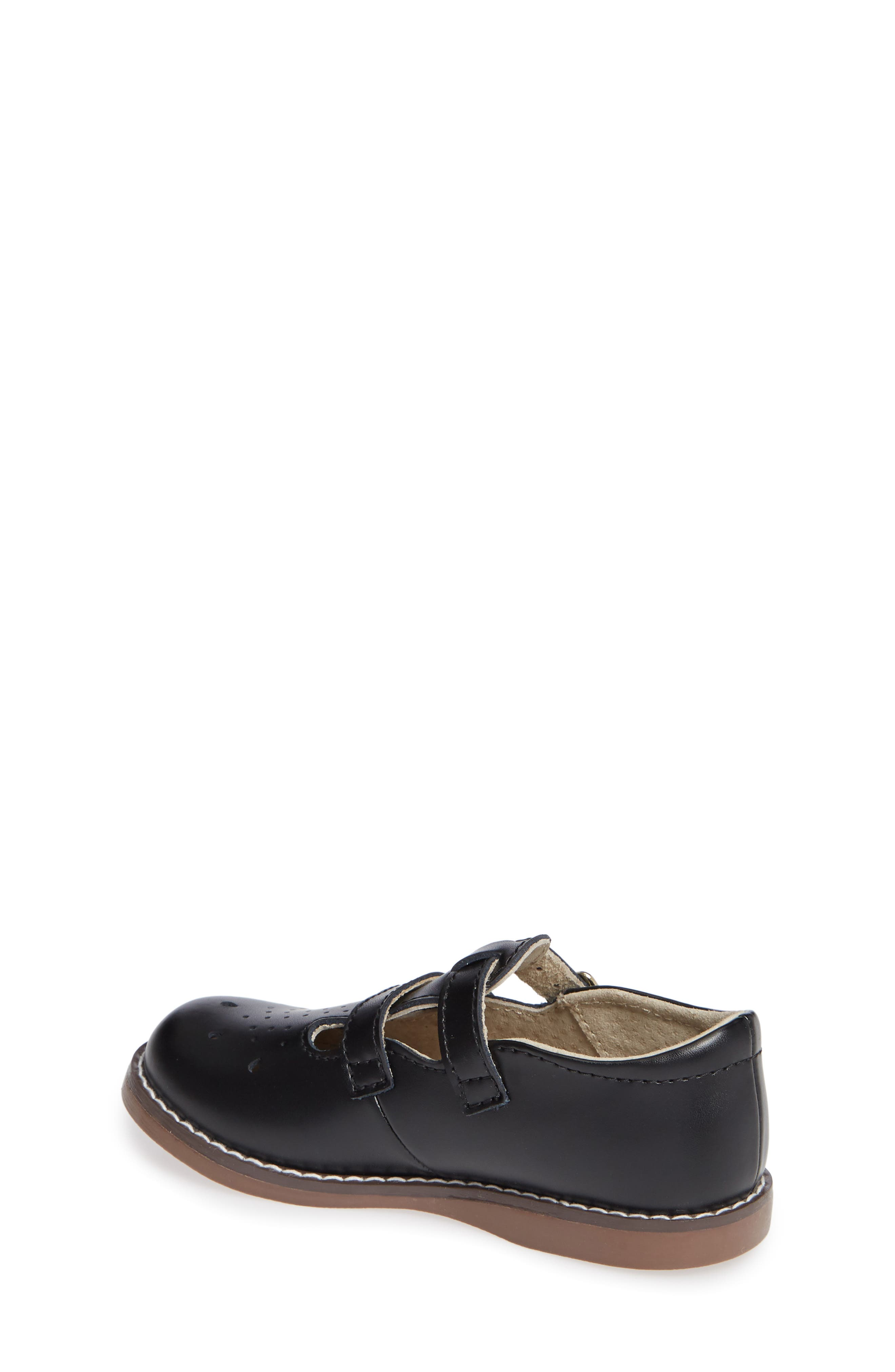 Danielle Double Strap Shoe,                             Alternate thumbnail 2, color,                             BLACK