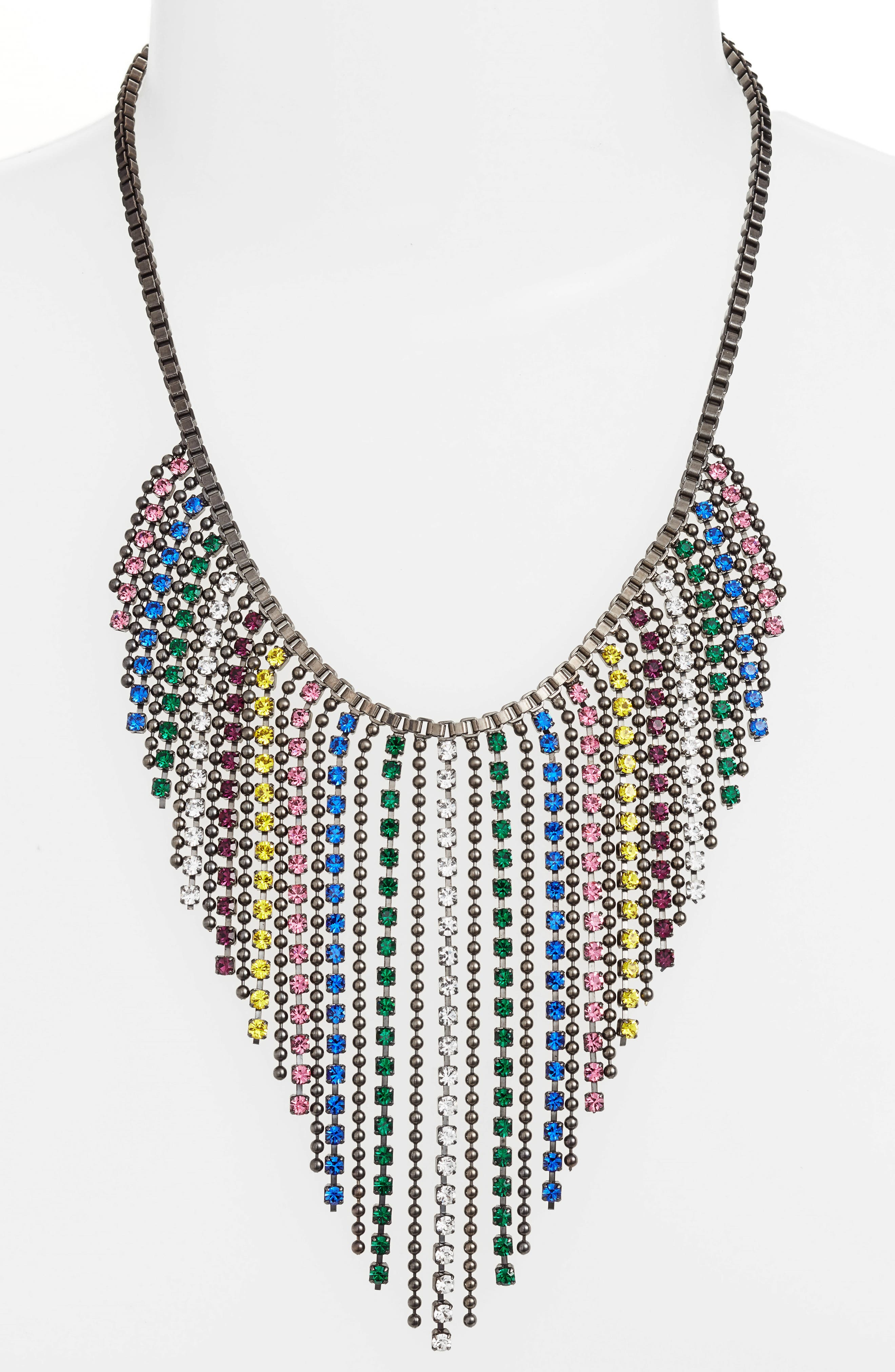 Joanna Frontal Necklace,                             Alternate thumbnail 6, color,