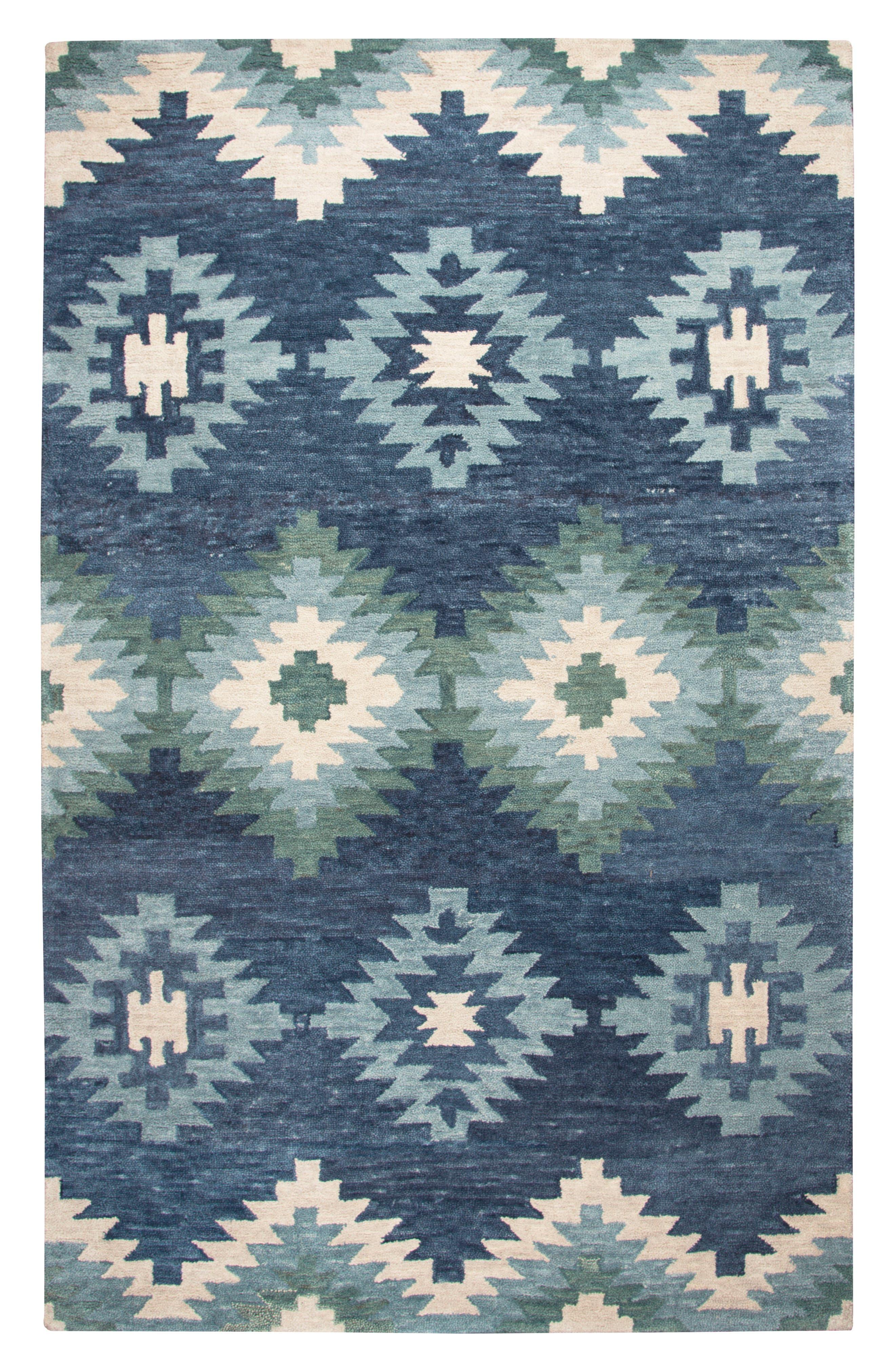Taos Hand Tufted Wool Area Rug,                             Main thumbnail 1, color,                             400