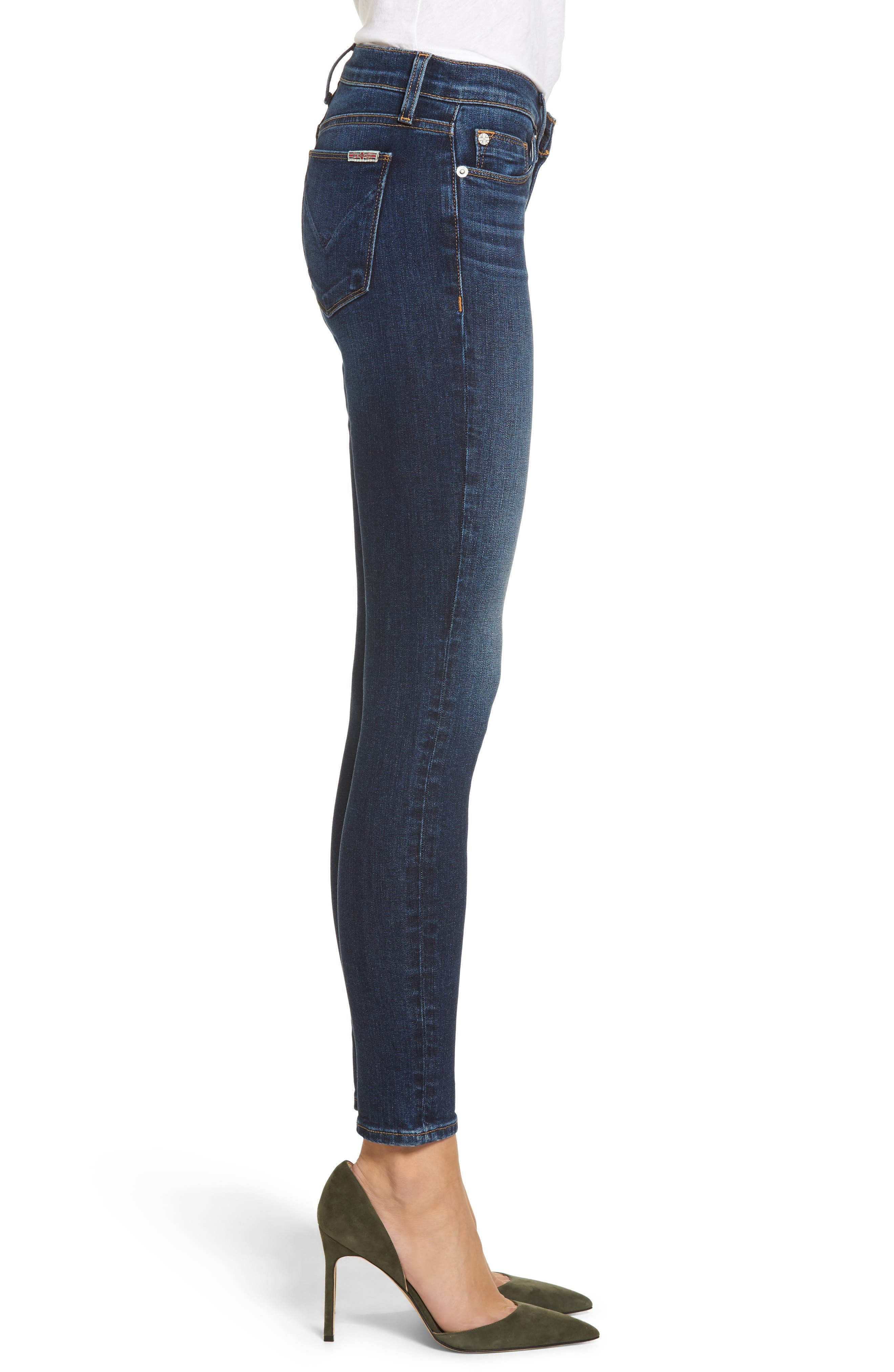 'Krista' Super Skinny Jeans,                             Alternate thumbnail 3, color,                             SOLO