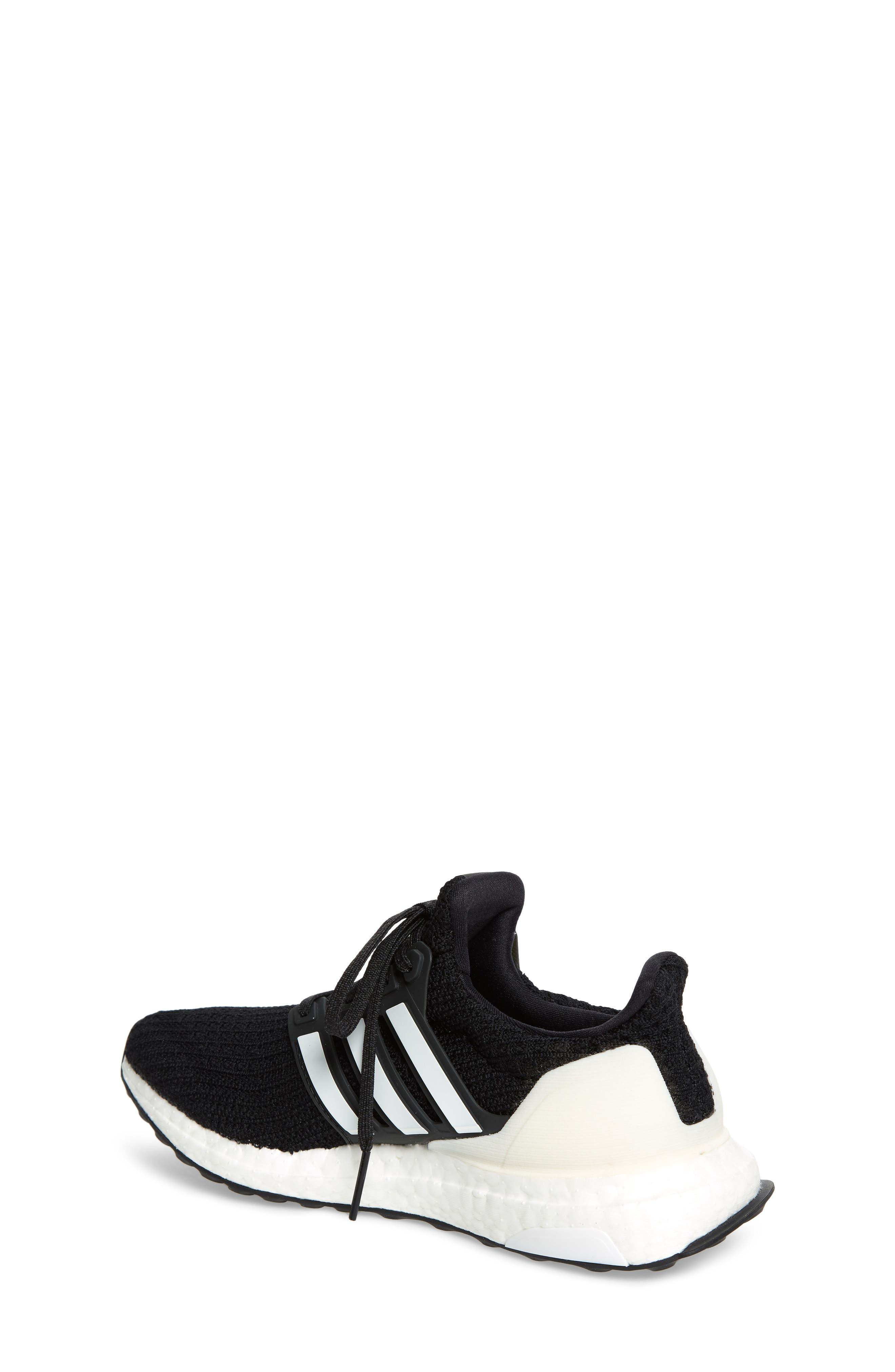 UltraBoost Sneaker,                             Alternate thumbnail 2, color,                             BLACK/ CLOUD WHITE/ CARBON