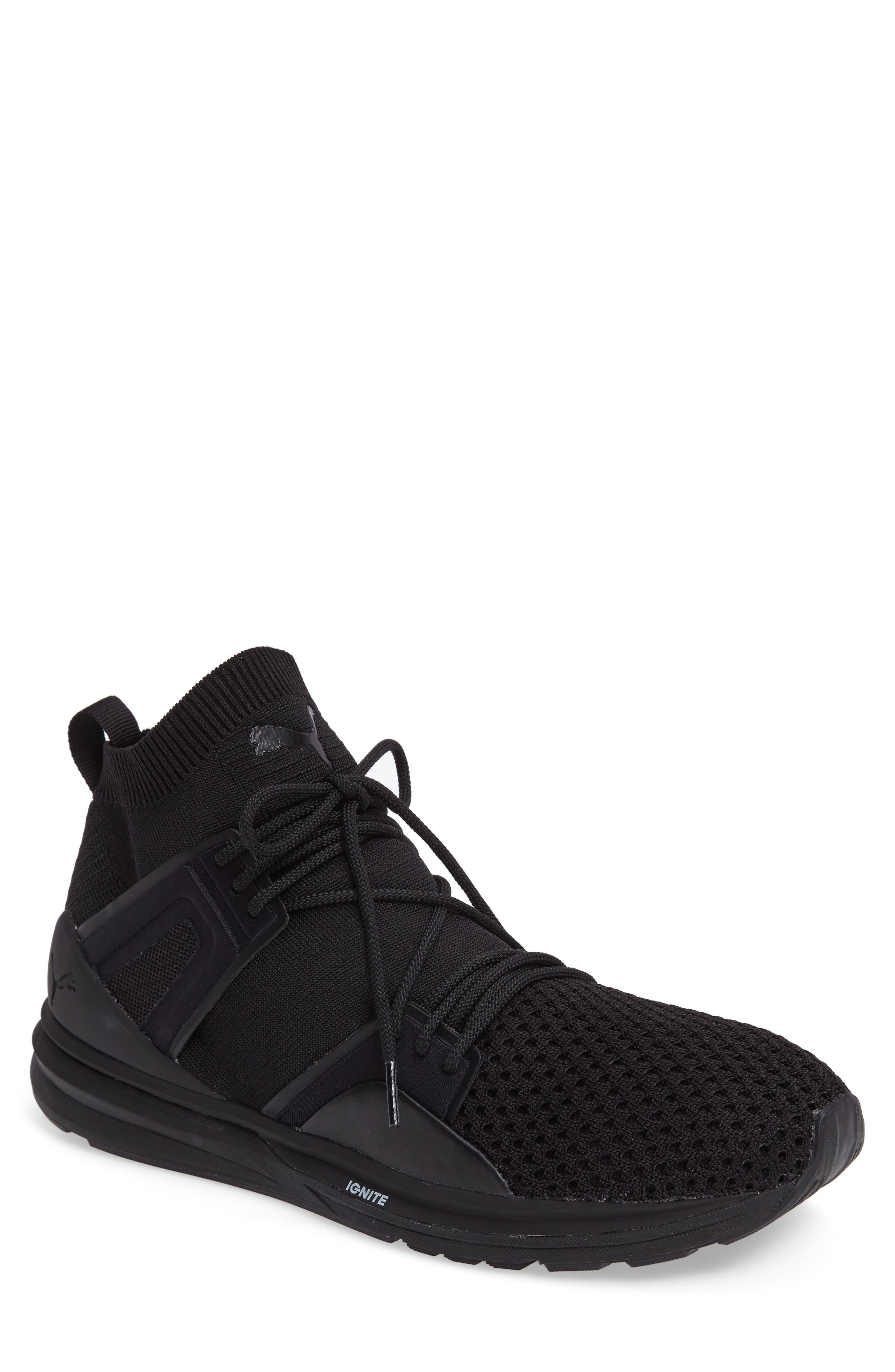 B.O.G. Limitless Hi evoKNIT Sneaker,                         Main,                         color, 001