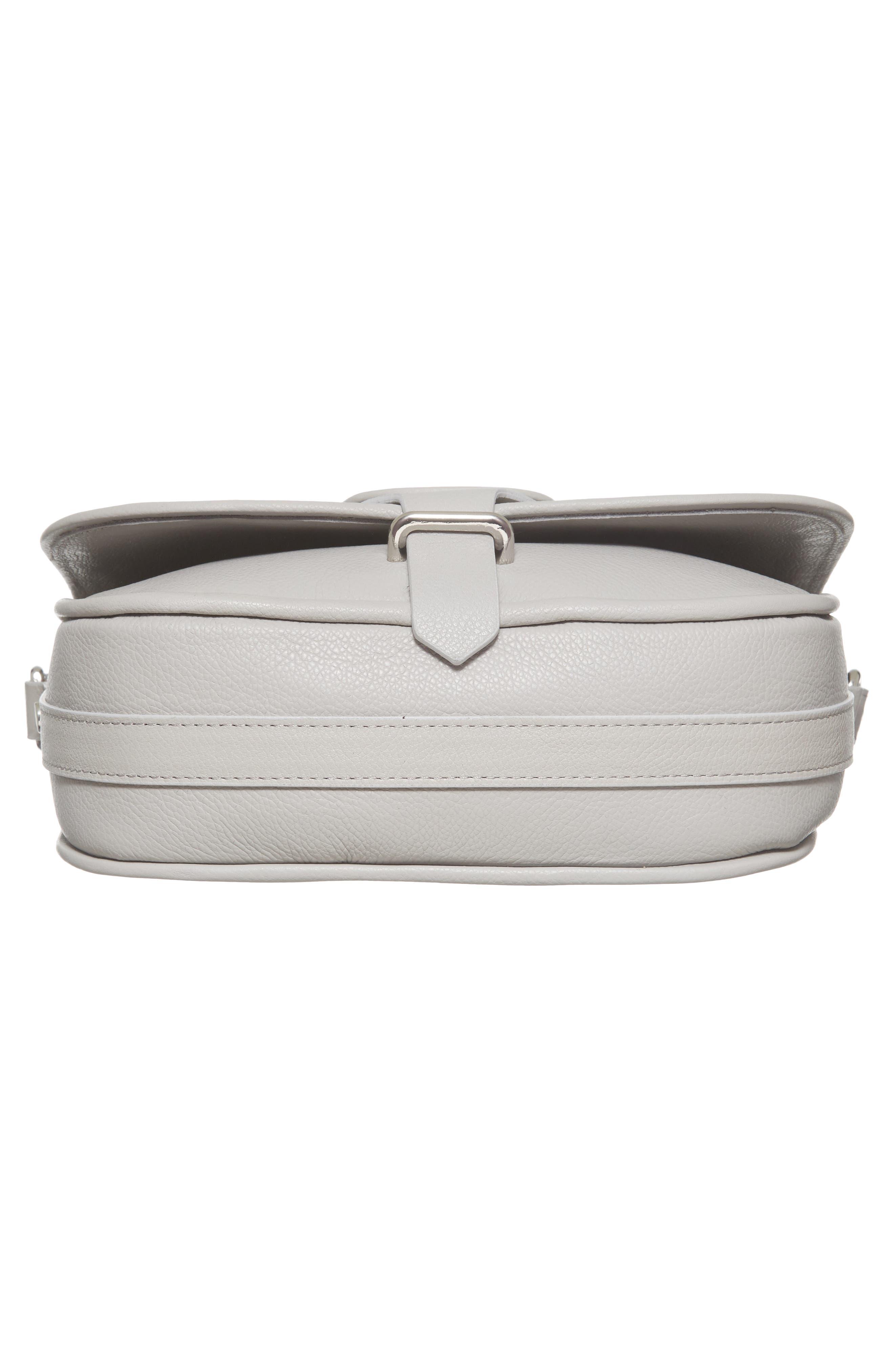 Premium Leather Studded Shoulder Bag,                             Alternate thumbnail 17, color,