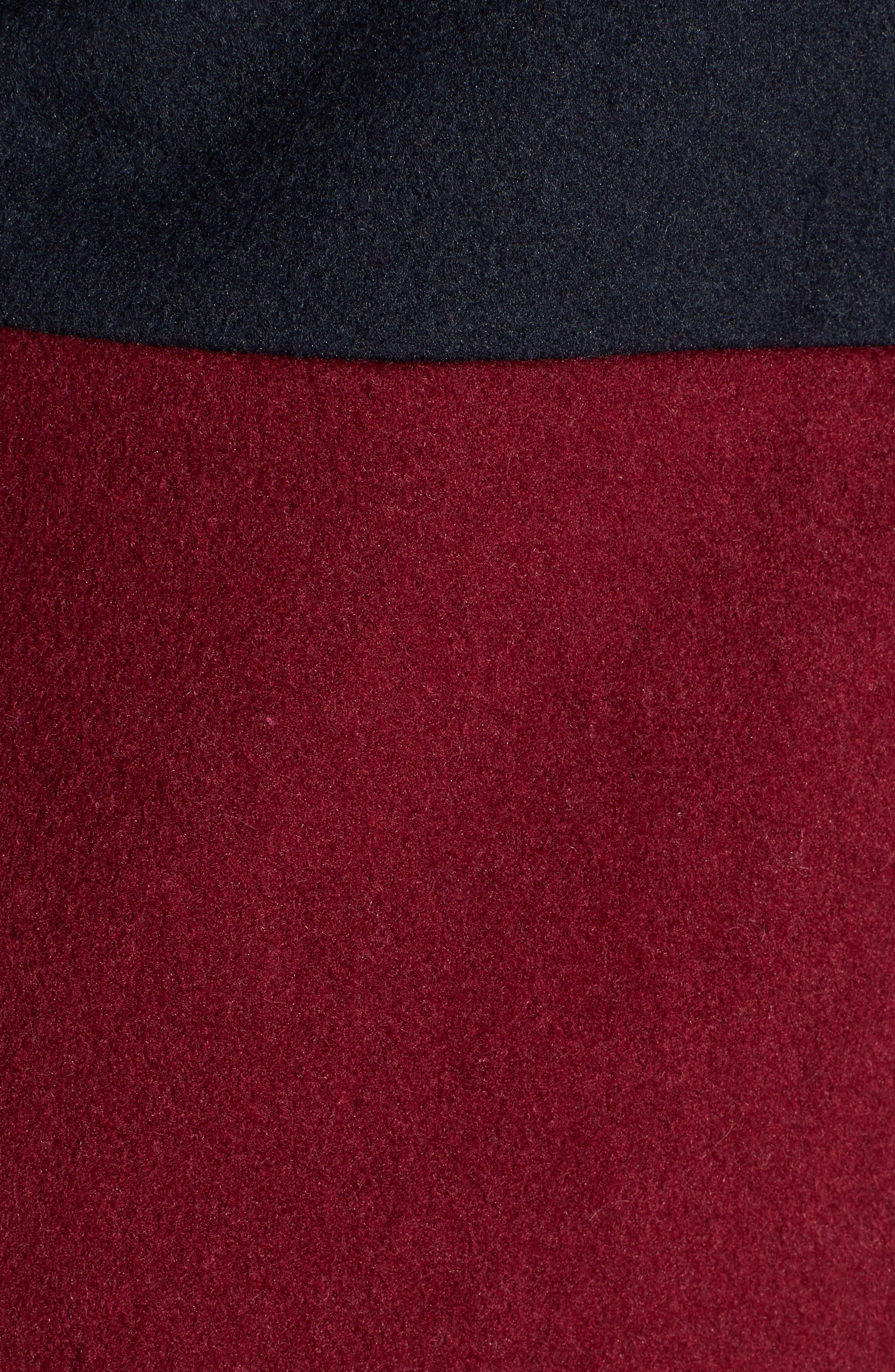 Colorblock Coat,                             Alternate thumbnail 7, color,                             400