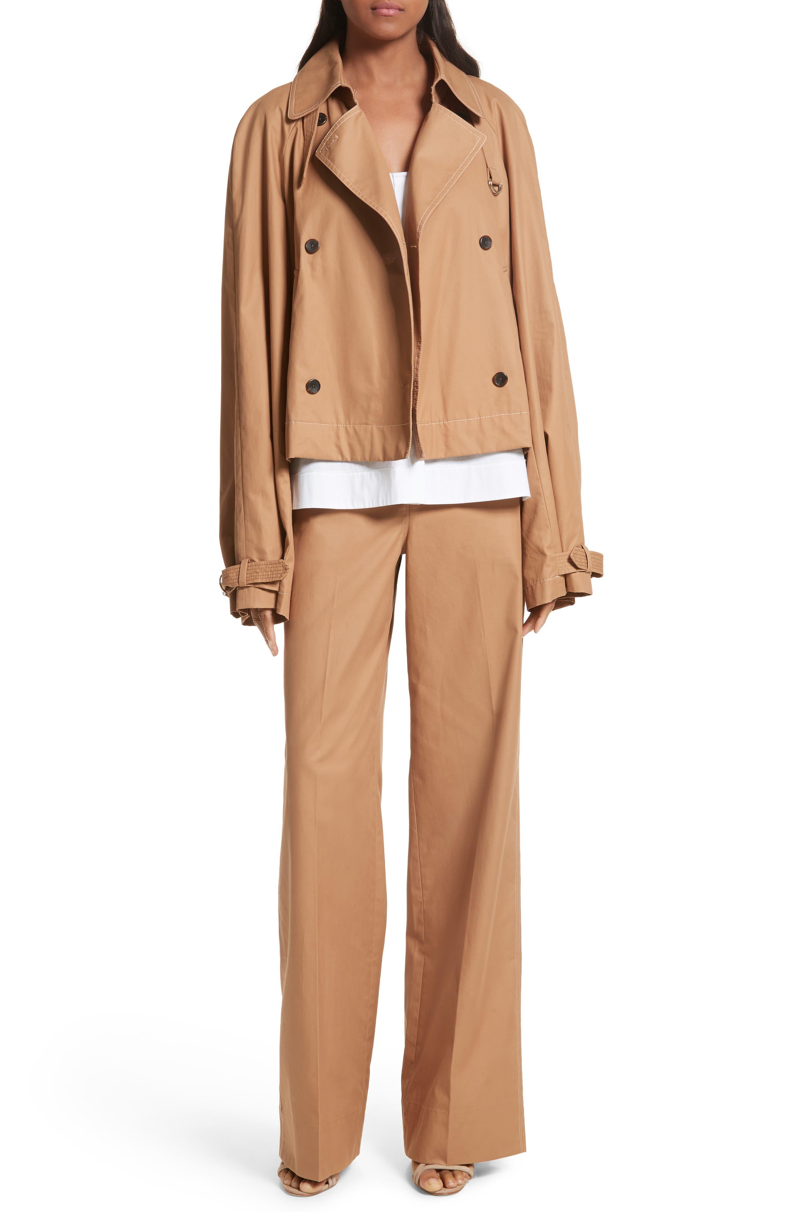 Eleta Short Trench Coat,                             Alternate thumbnail 7, color,                             206