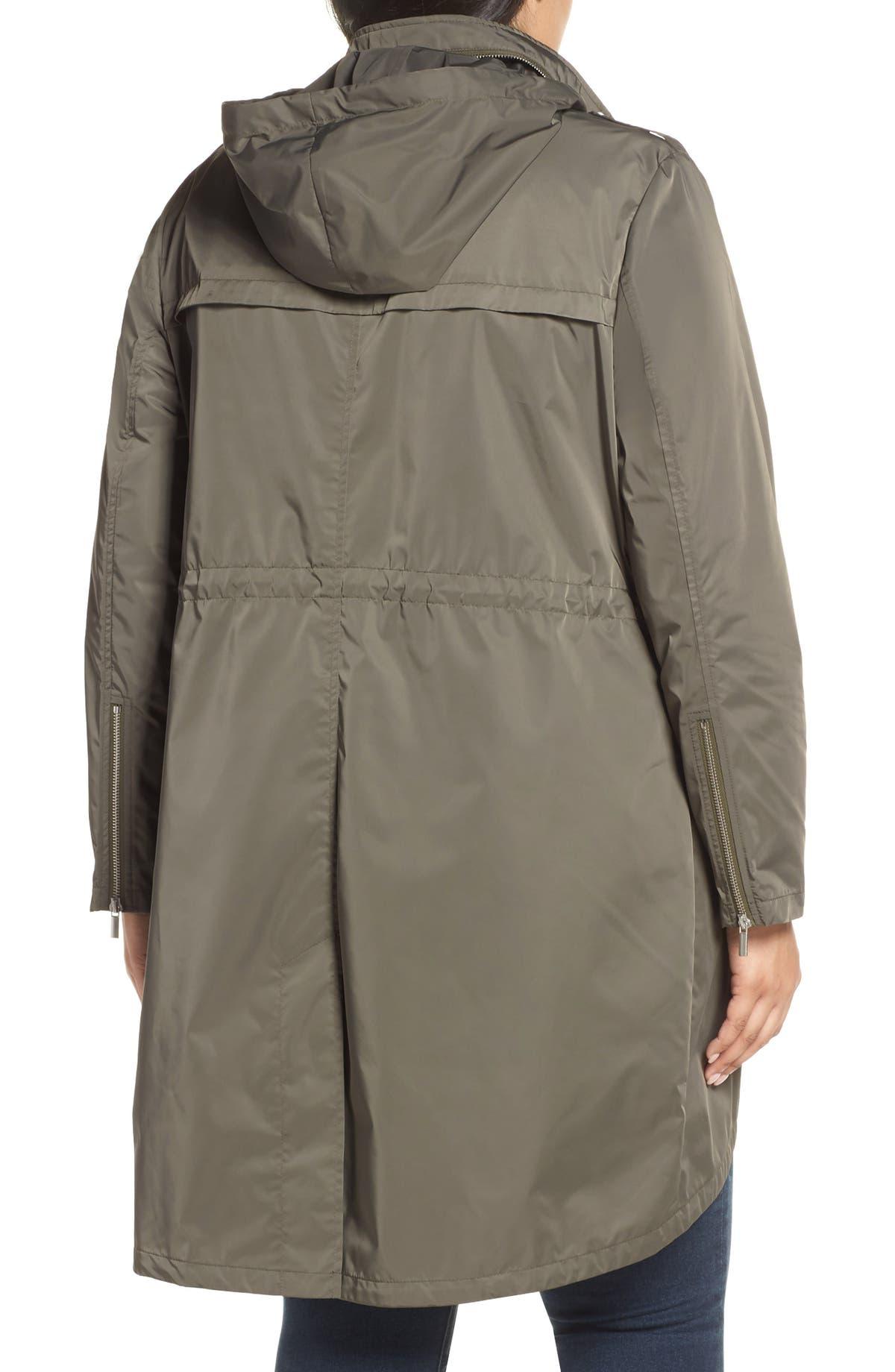 85b8cefd338 Badgley Mischka Dakota Raincoat (Plus Size)