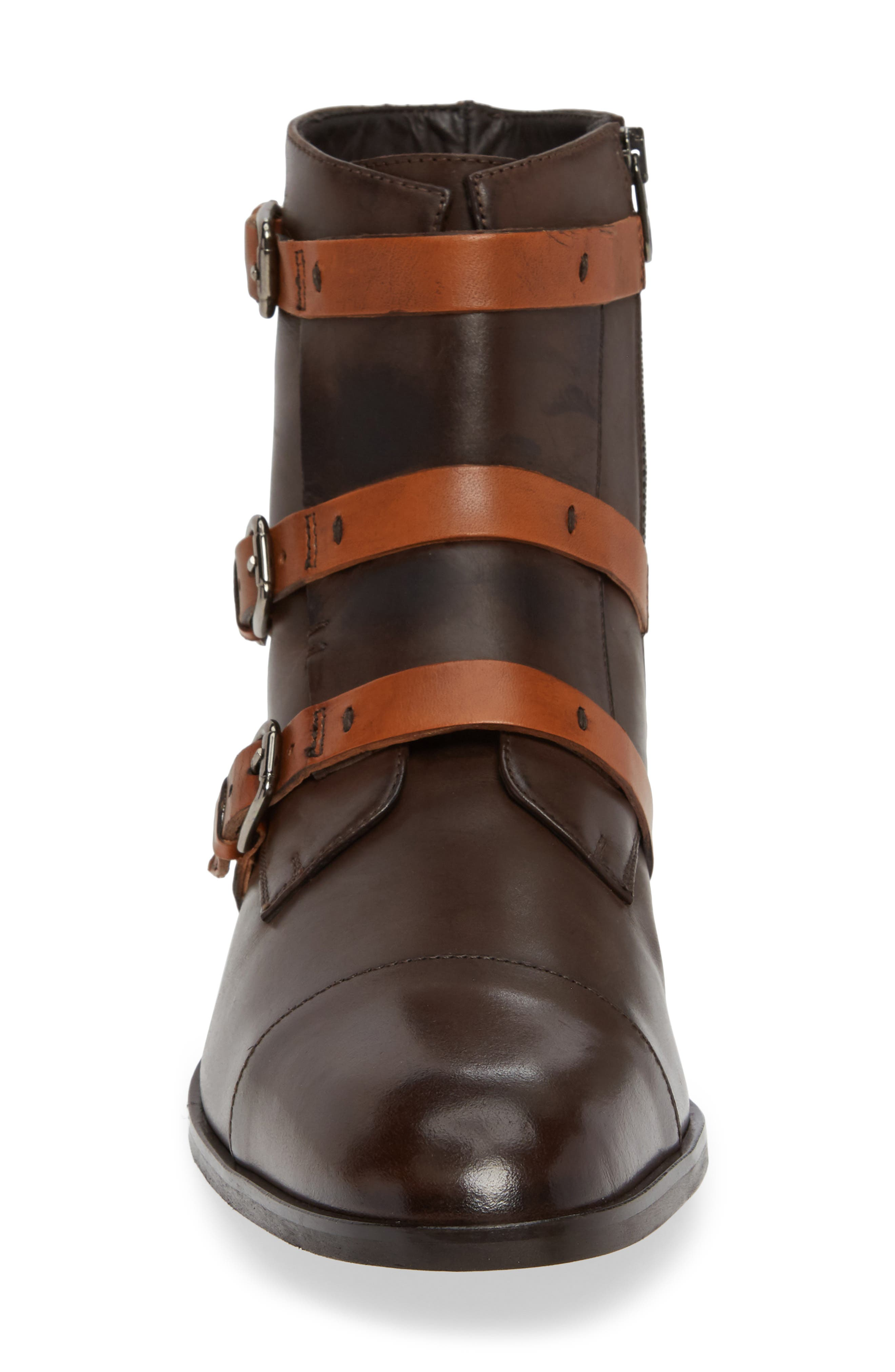 DONALD PLINER,                             Martino Buckle Strap Boot,                             Alternate thumbnail 4, color,                             205
