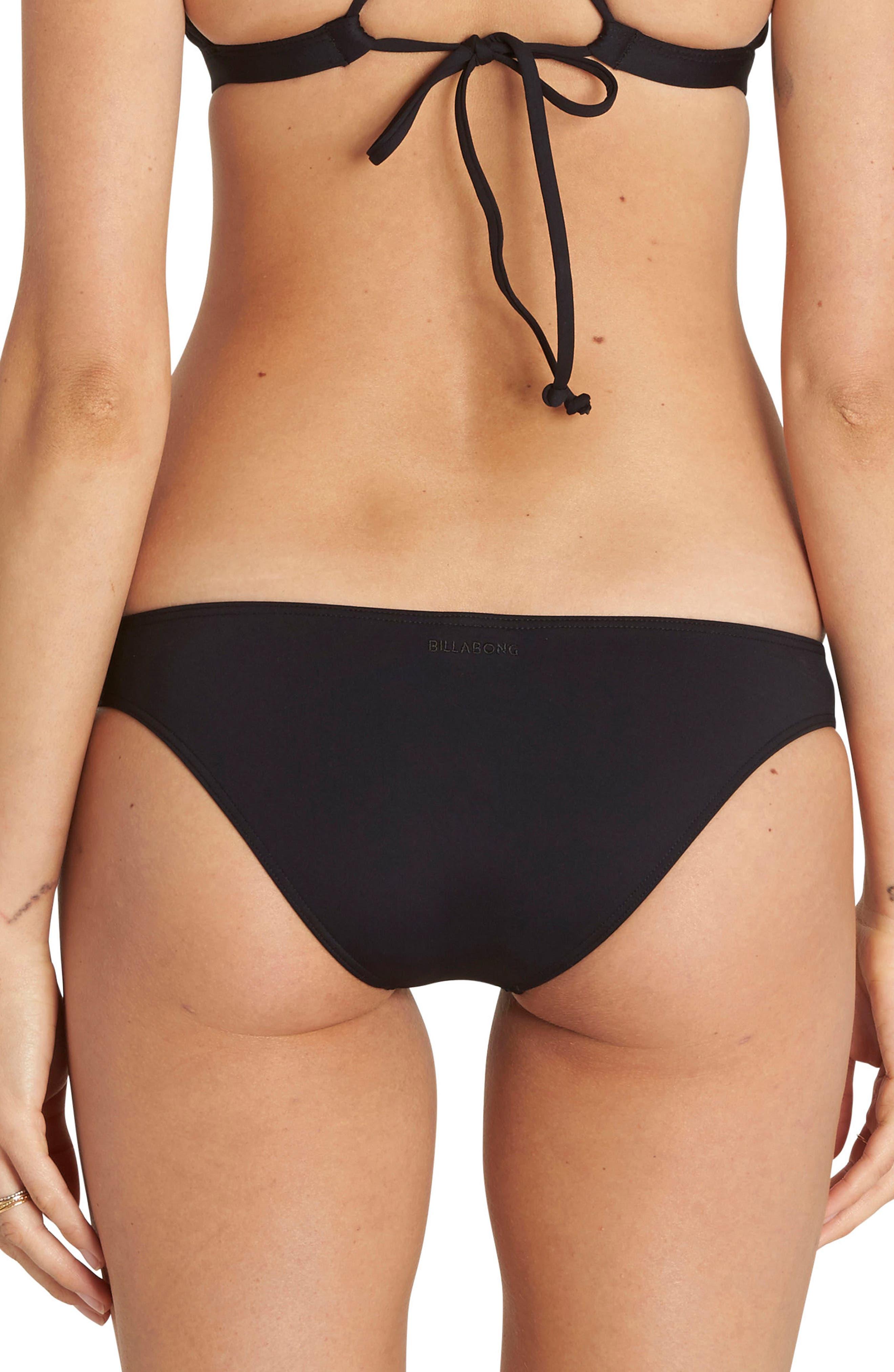 Sol Searcher Tropic Cheeky Bikini Bottoms,                             Alternate thumbnail 2, color,                             001