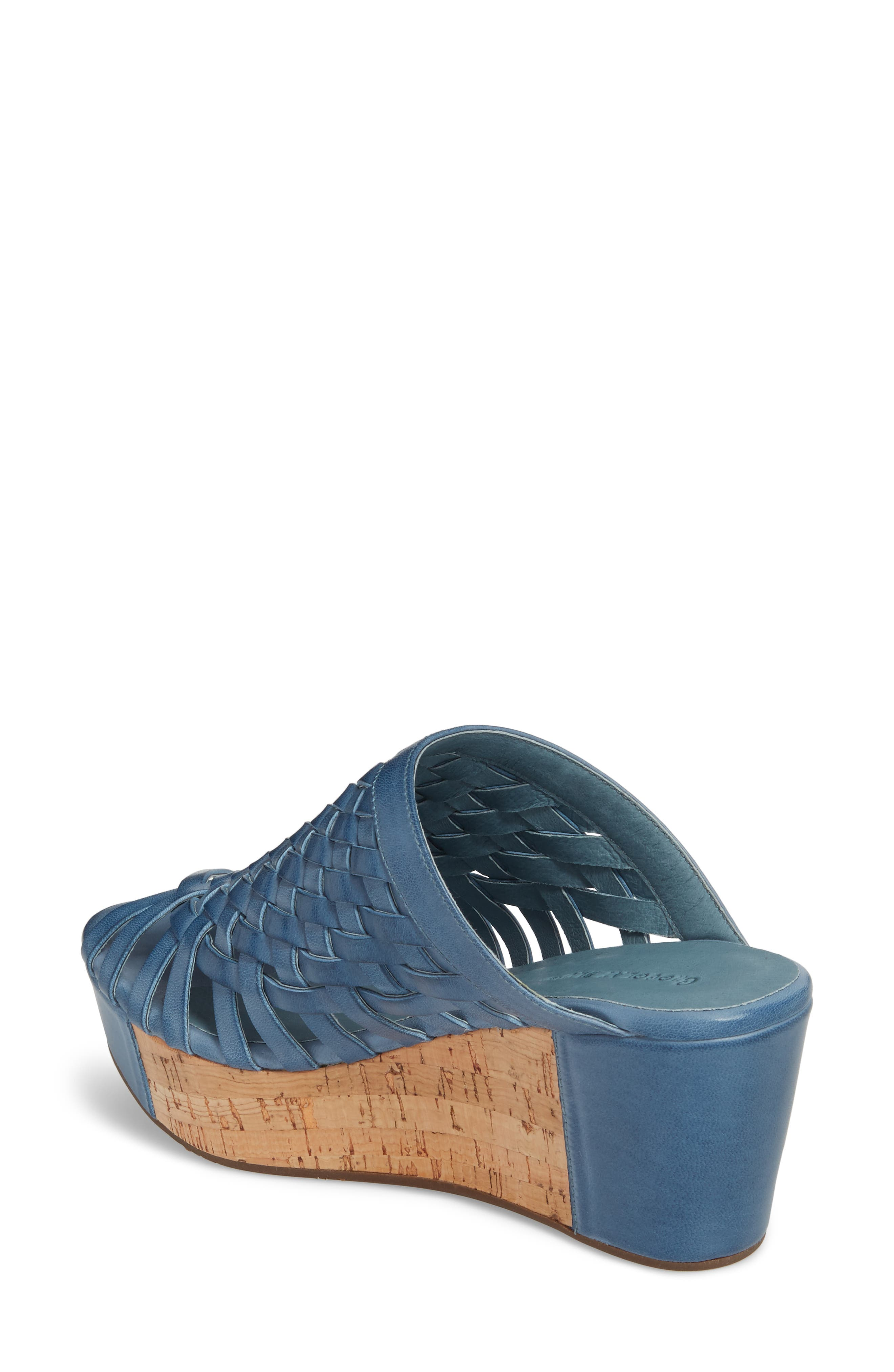 Walda Platform Wedge Sandal,                             Alternate thumbnail 6, color,