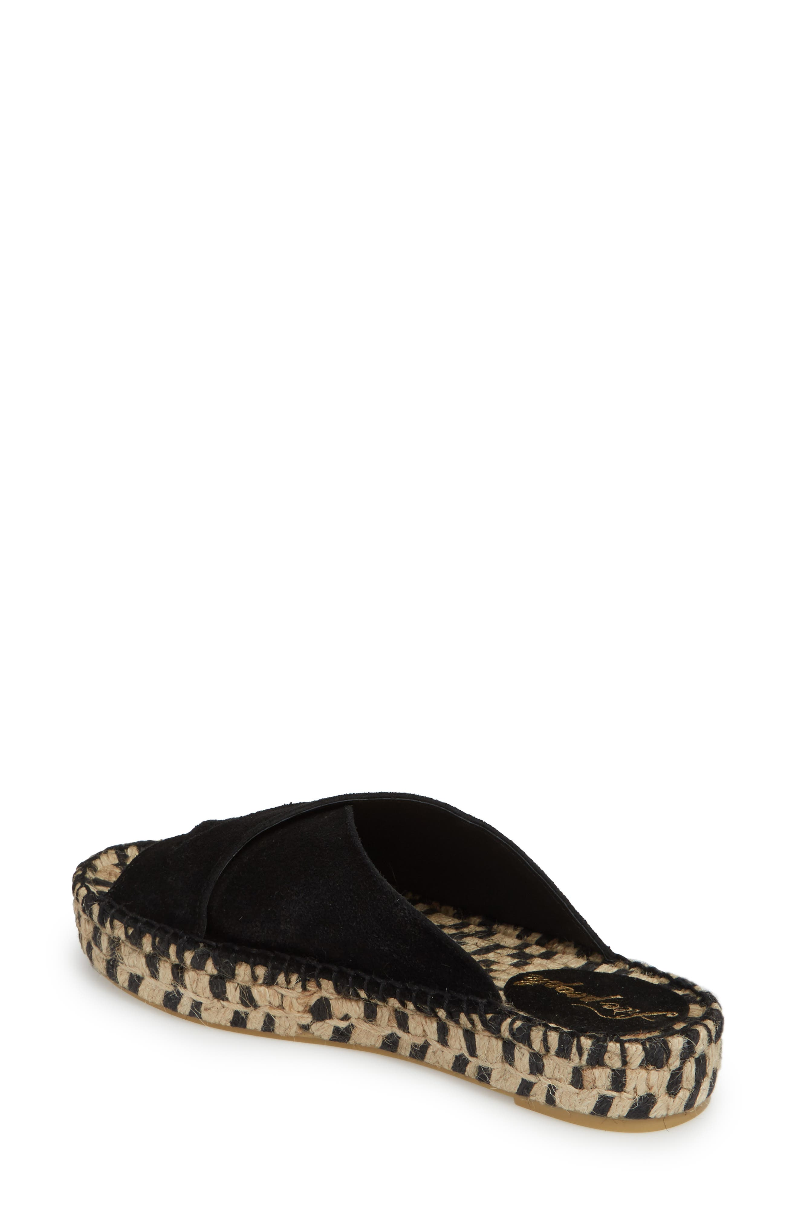 Tuscan Slip-On Espadrille Sandal,                             Alternate thumbnail 2, color,                             001