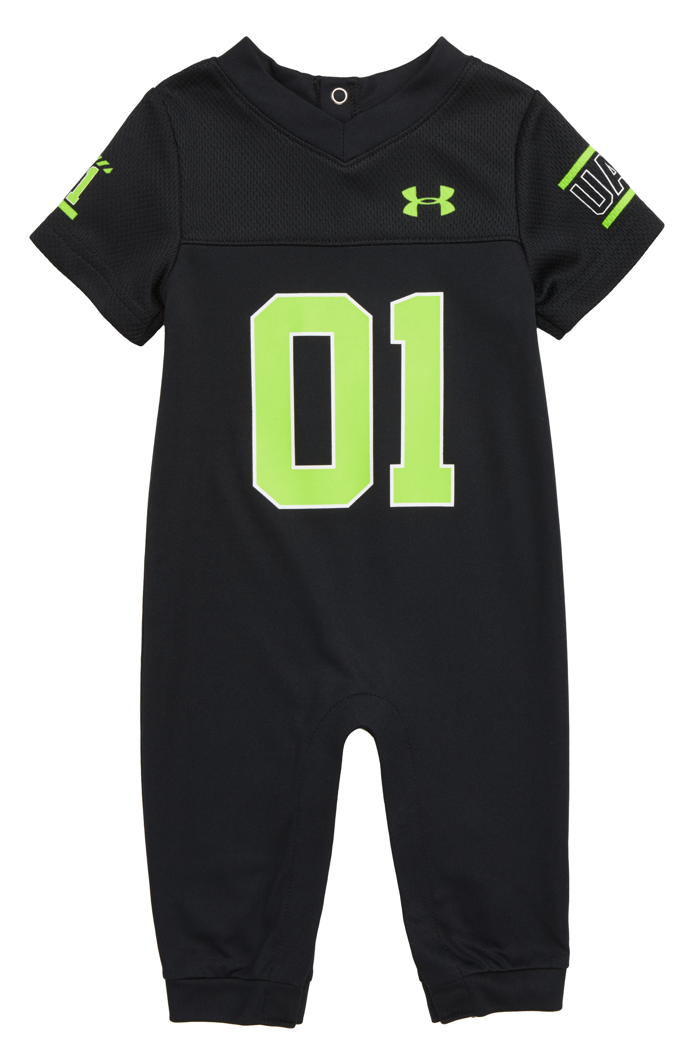 Infant Boys Under Armour Football Jersey Romper