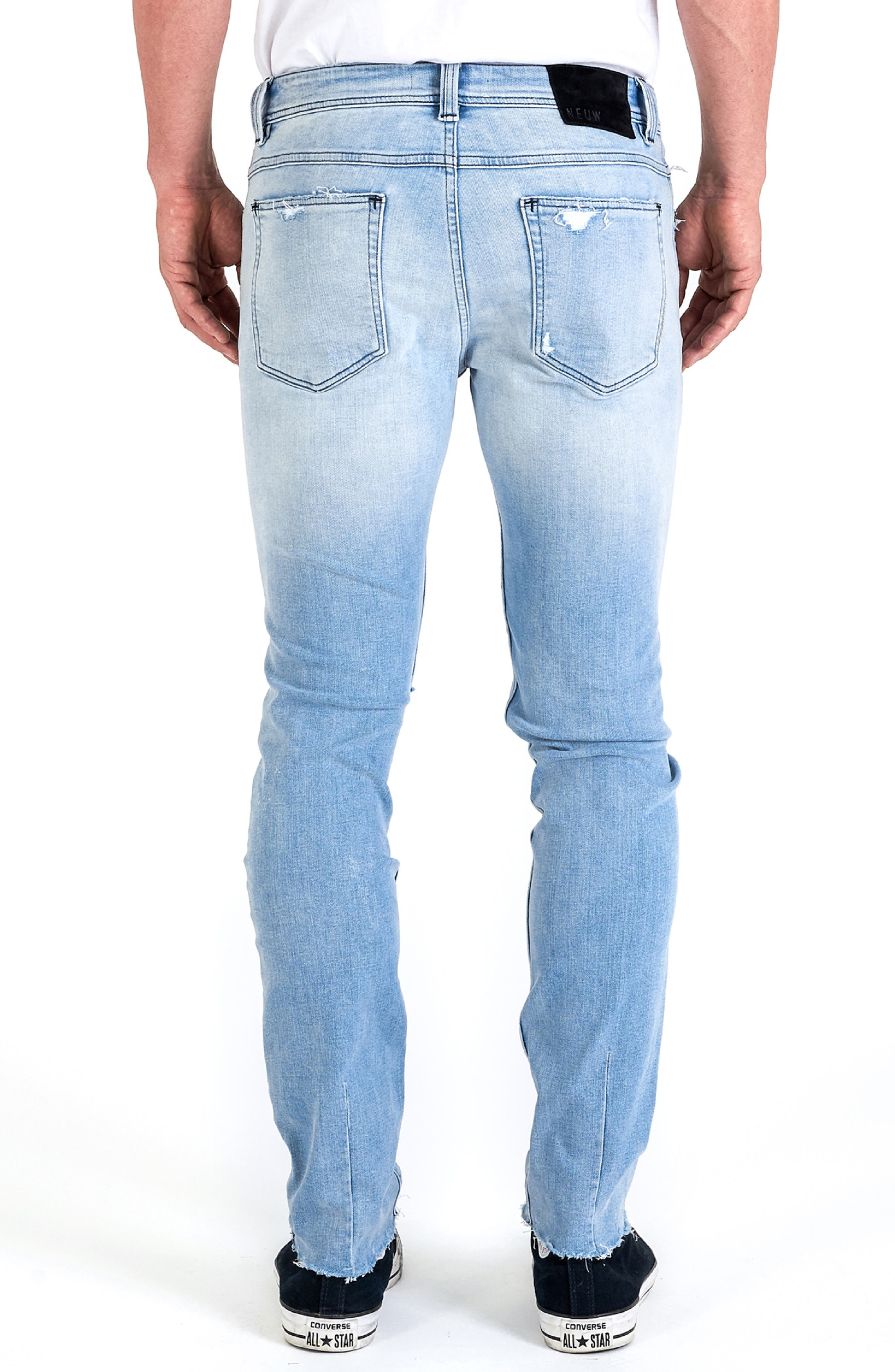 Iggy Skinny Fit Jeans,                             Alternate thumbnail 2, color,                             FRACTURE