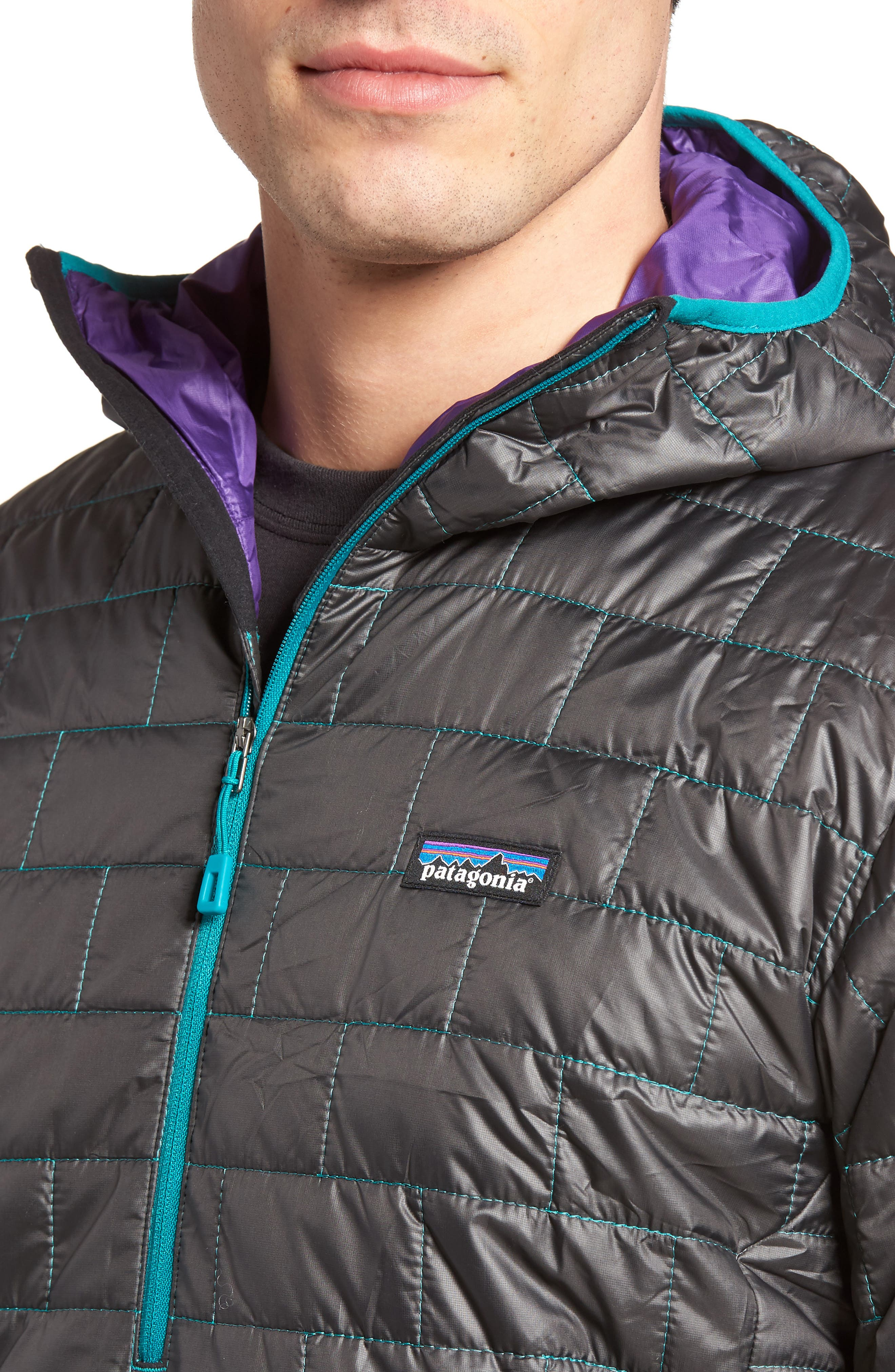 Nano Puff<sup>®</sup> Bivy Regular Fit Water Resistant Jacket,                             Alternate thumbnail 16, color,